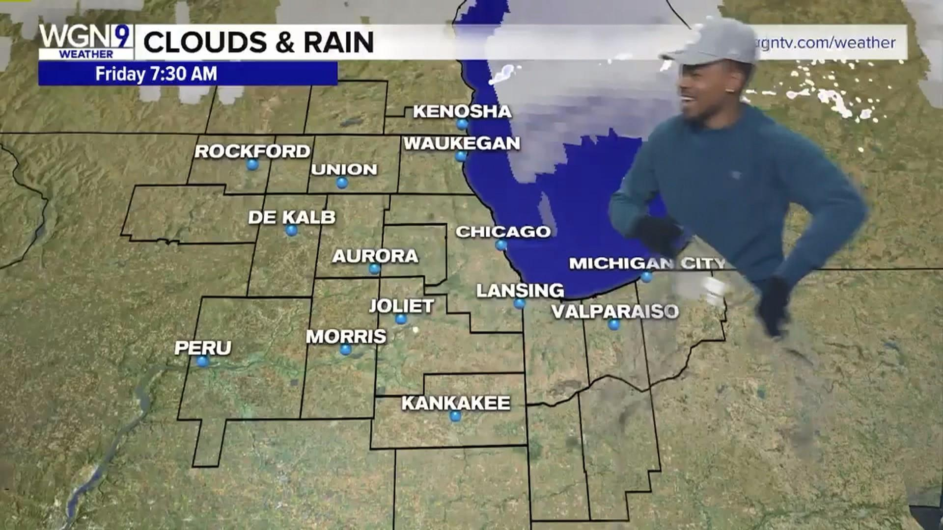 Kalb Weather Map.Watch Chance The Rapper Deliver The Weather Report In Chicago