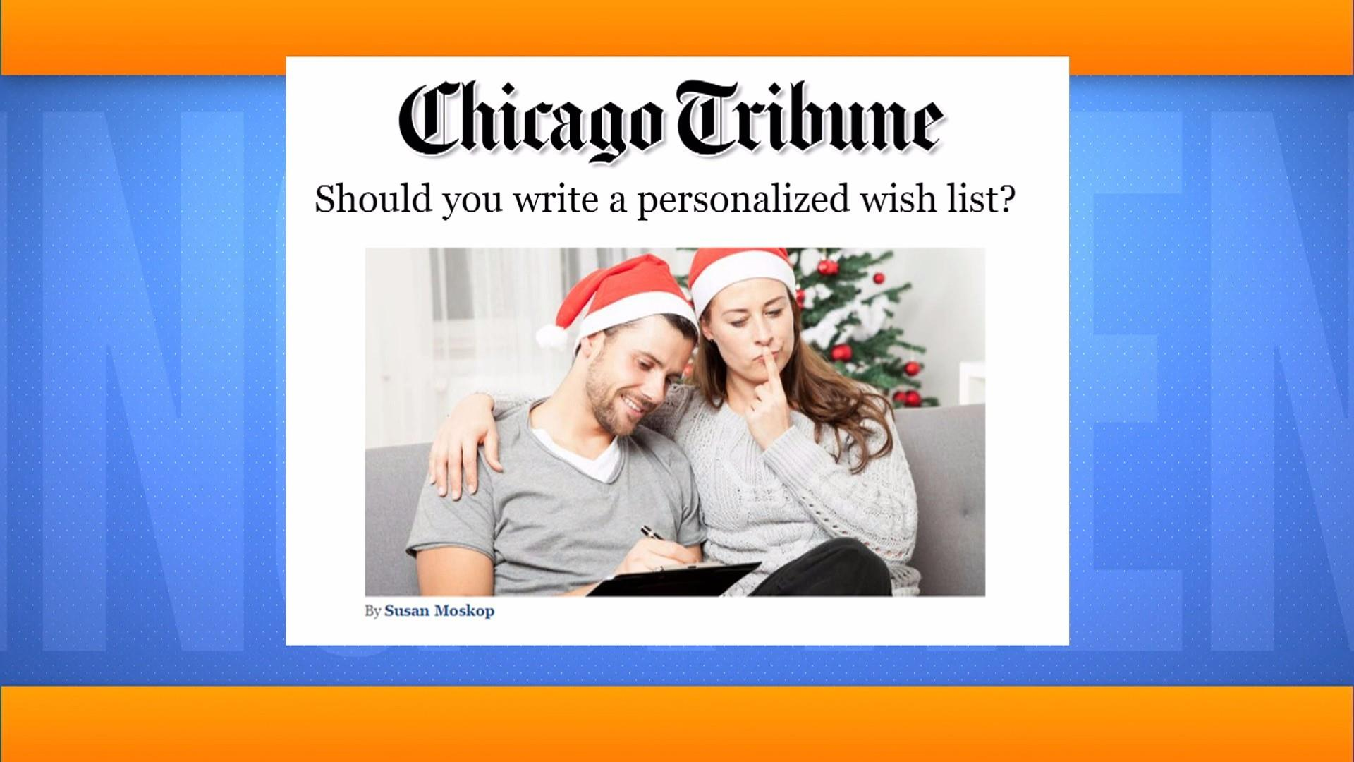 Should you write a personalized wish list? Al Roker says…