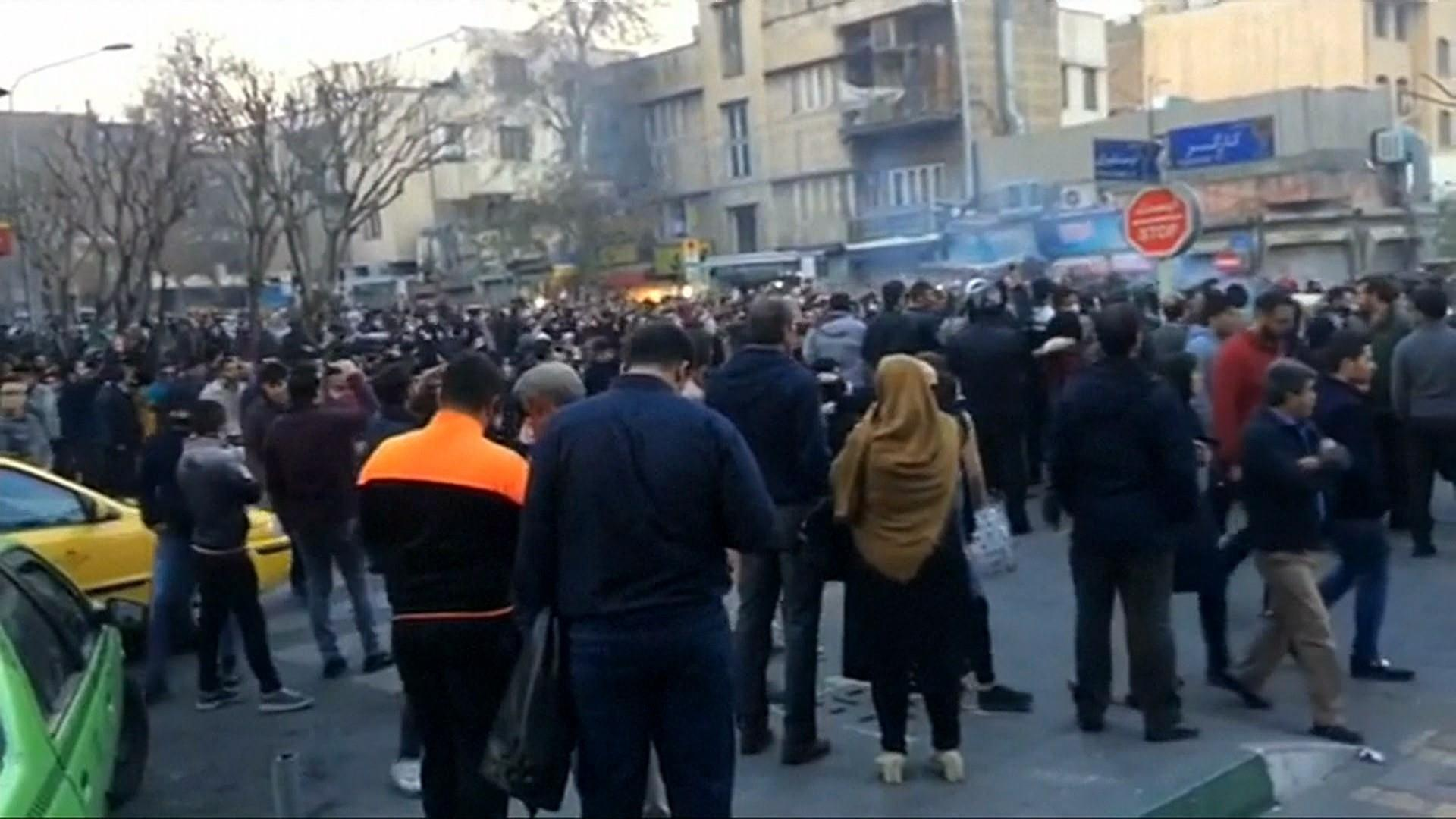 2 Killed During Protests In Iran, News Agency Says - Todaycom-3026
