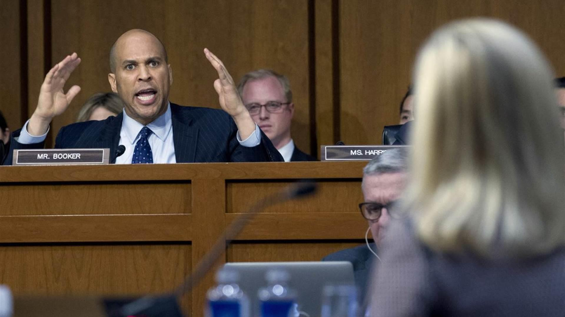 Booker blasts Trump's DHS Secy. for 'convenient amnesia'