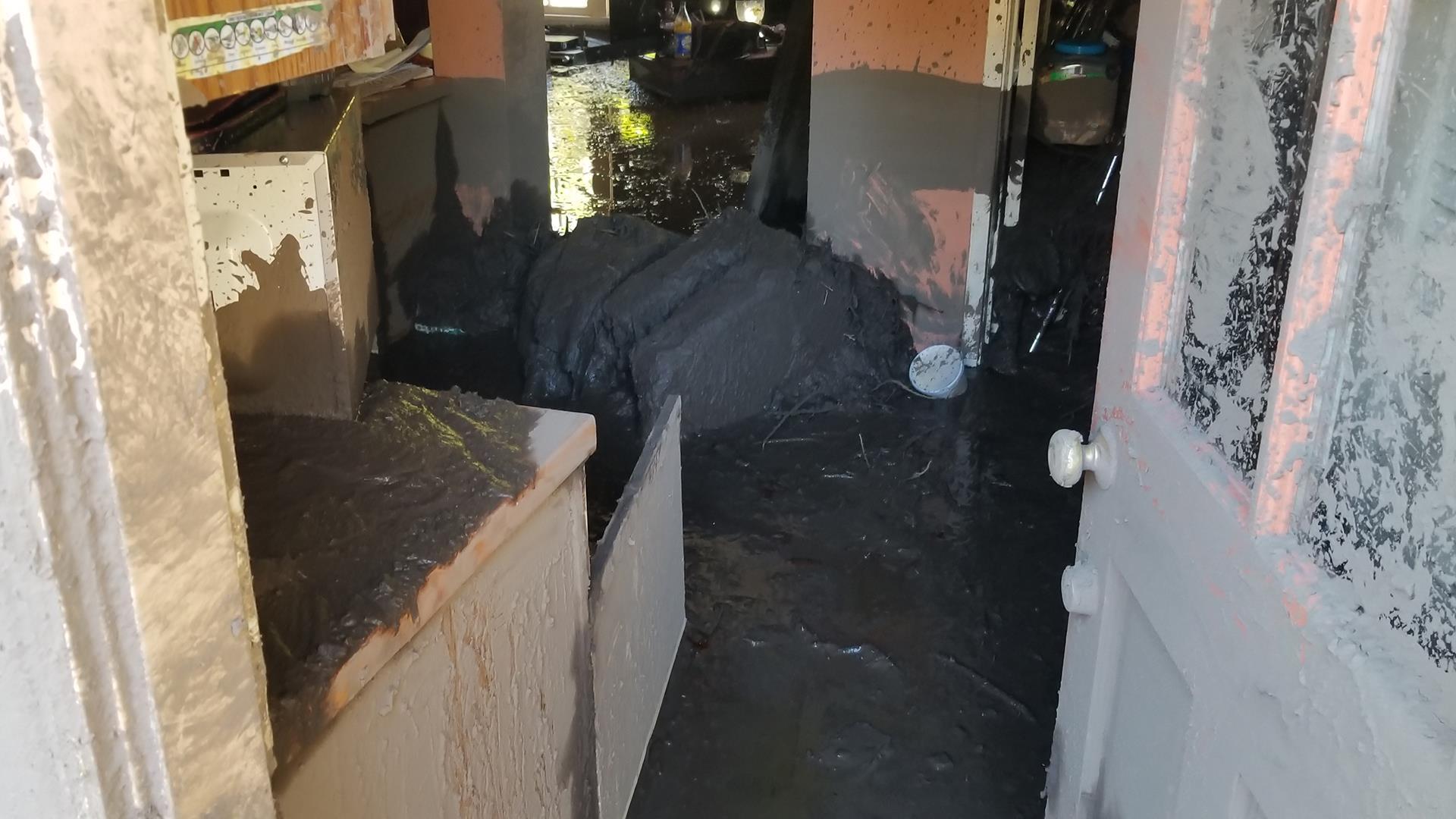 Footage shows horrifying moment flash flood hit Santa Barbara