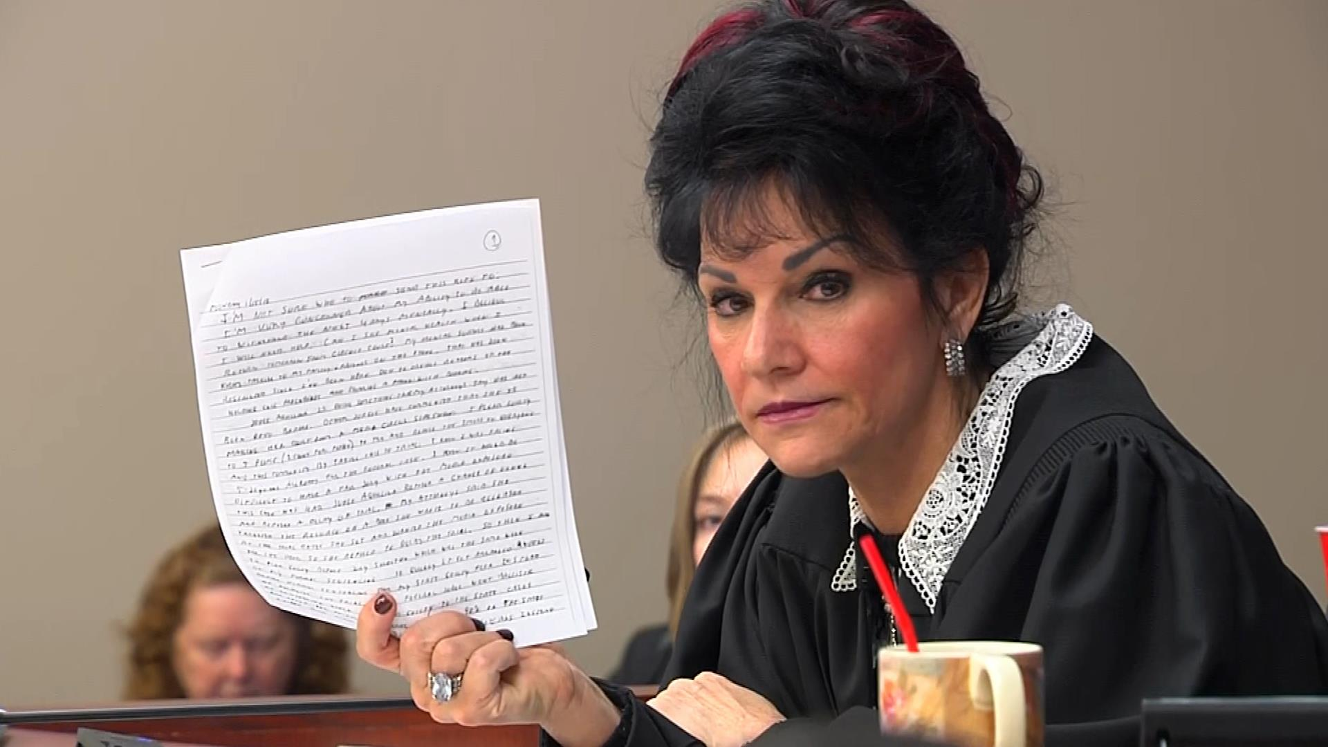 Judge Aquilina slams Larry Nassar's letter about sentencing
