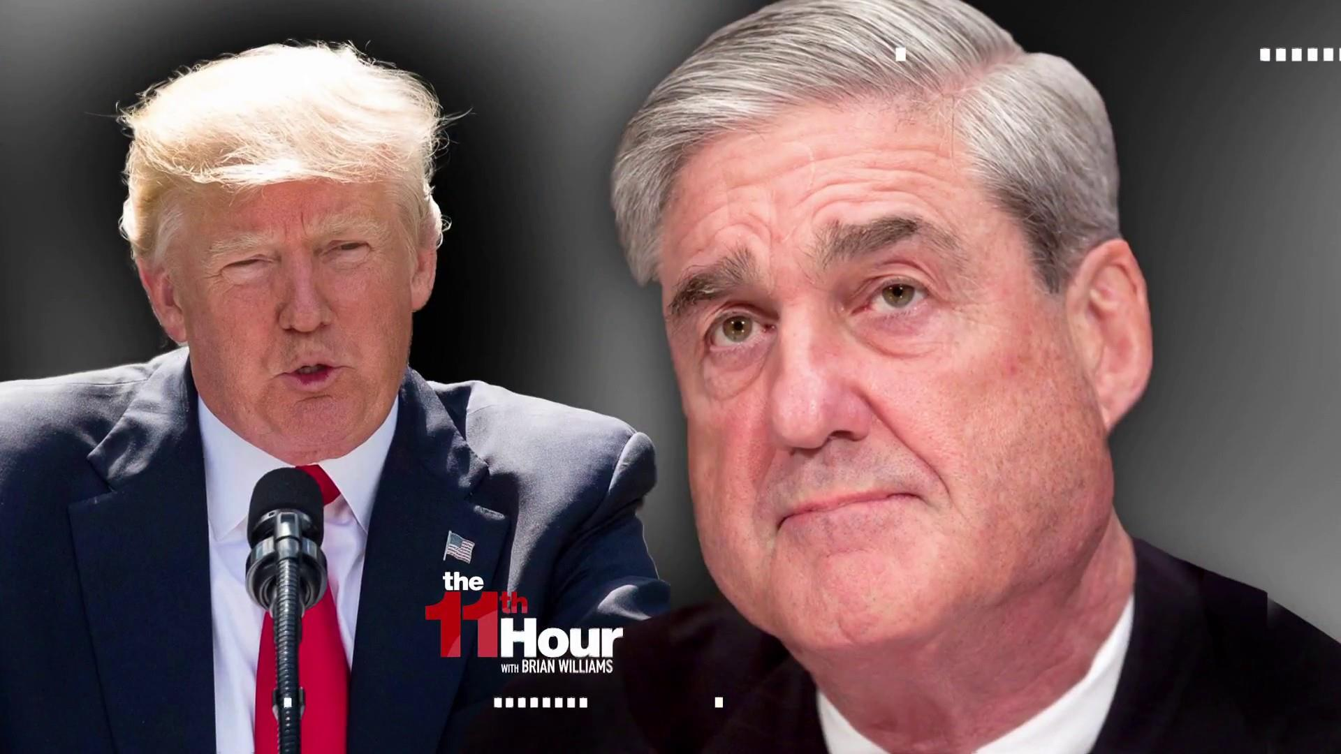 Trump: Absolutely, I'll talk to Mueller under oath