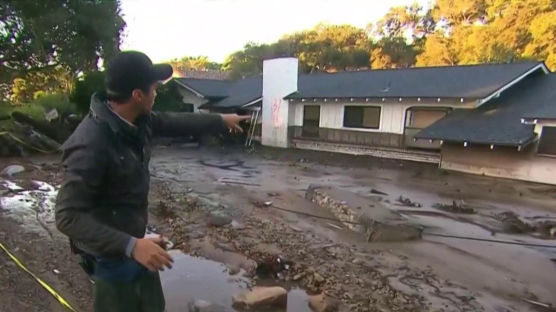 Search and rescue efforts underway after California mudslides