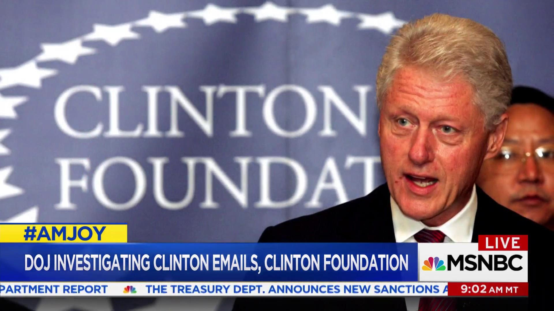 Clinton Foundation investigation labeled a 'distraction'