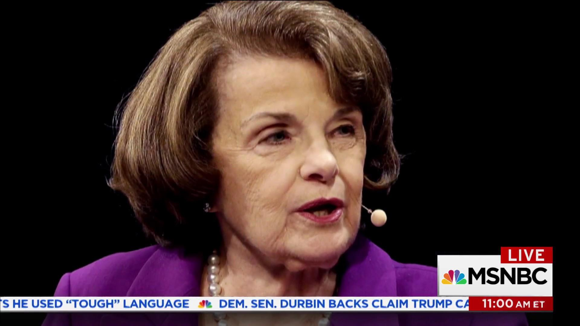 Sen. Feinstein praised for releasing key Russiagate info