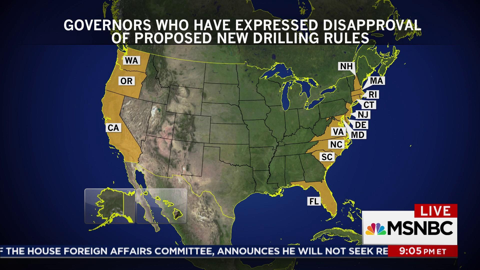 Zinke grants drilling exception to Florida
