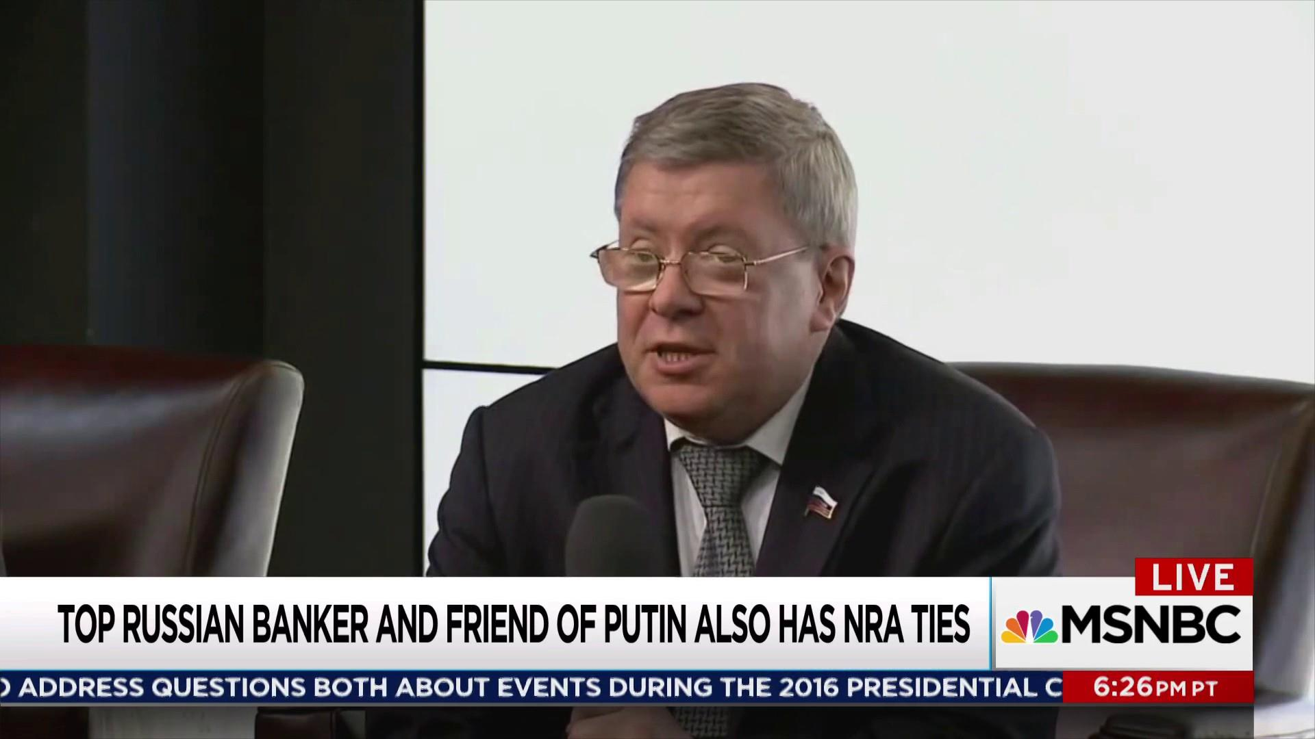 Russian money ties to NRA under FBI scrutiny