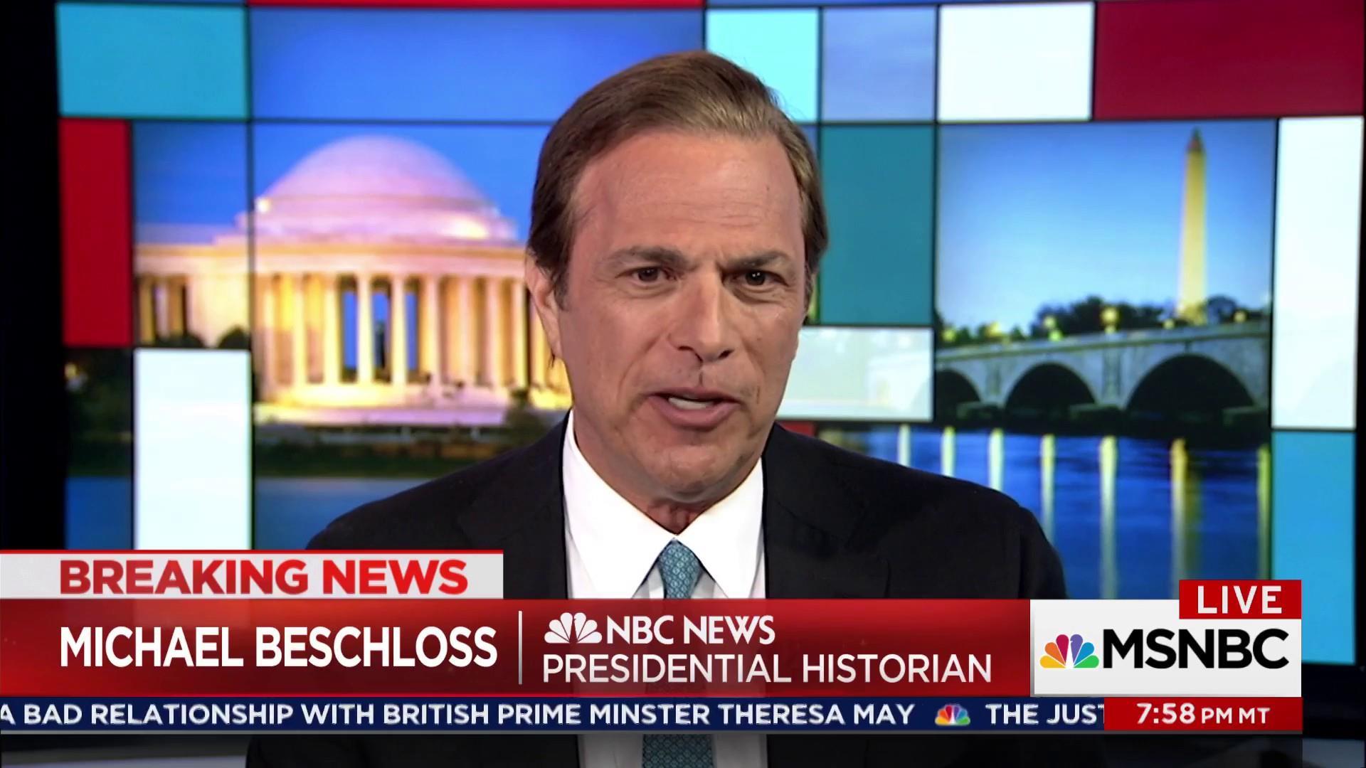 Trump evokes Nixon again with Mueller firing
