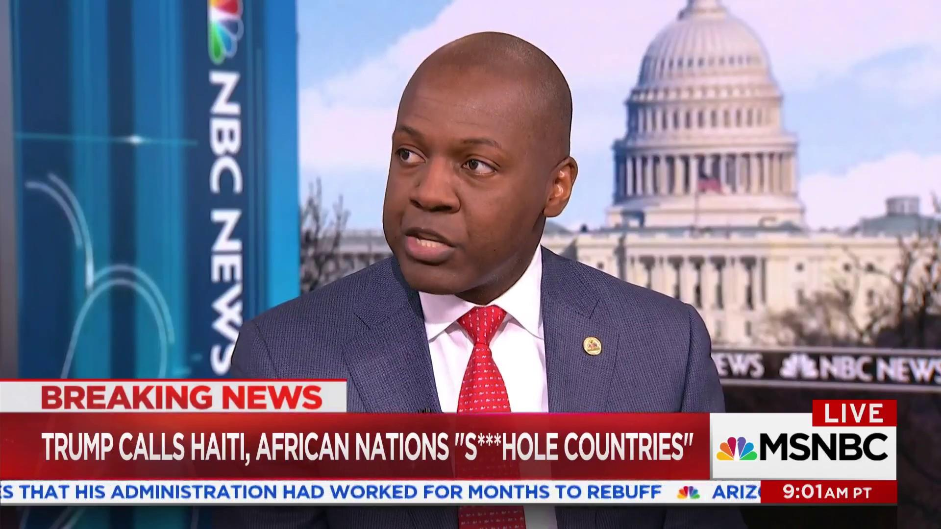 Haiti Amb. 'shocked & disappointed' by Trump's comments
