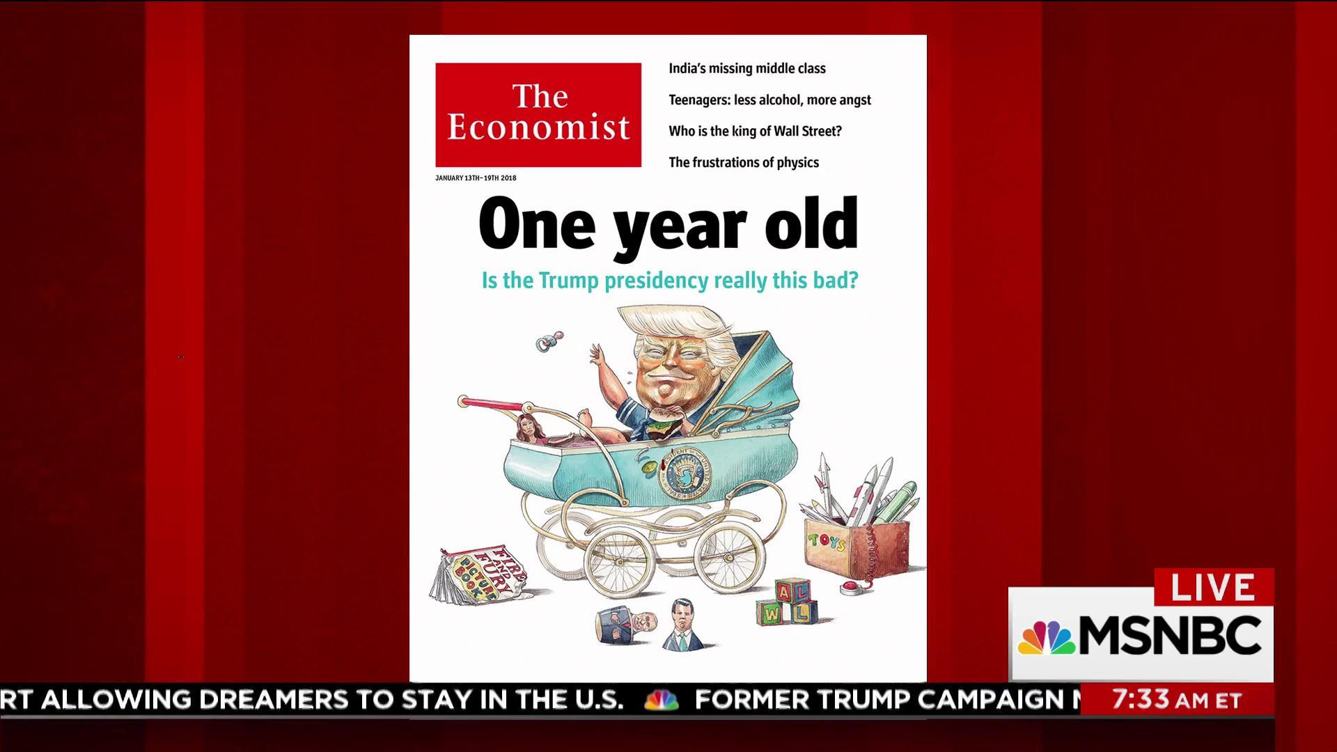 The Economist asks: Is the Trump WH 'really this bad?'