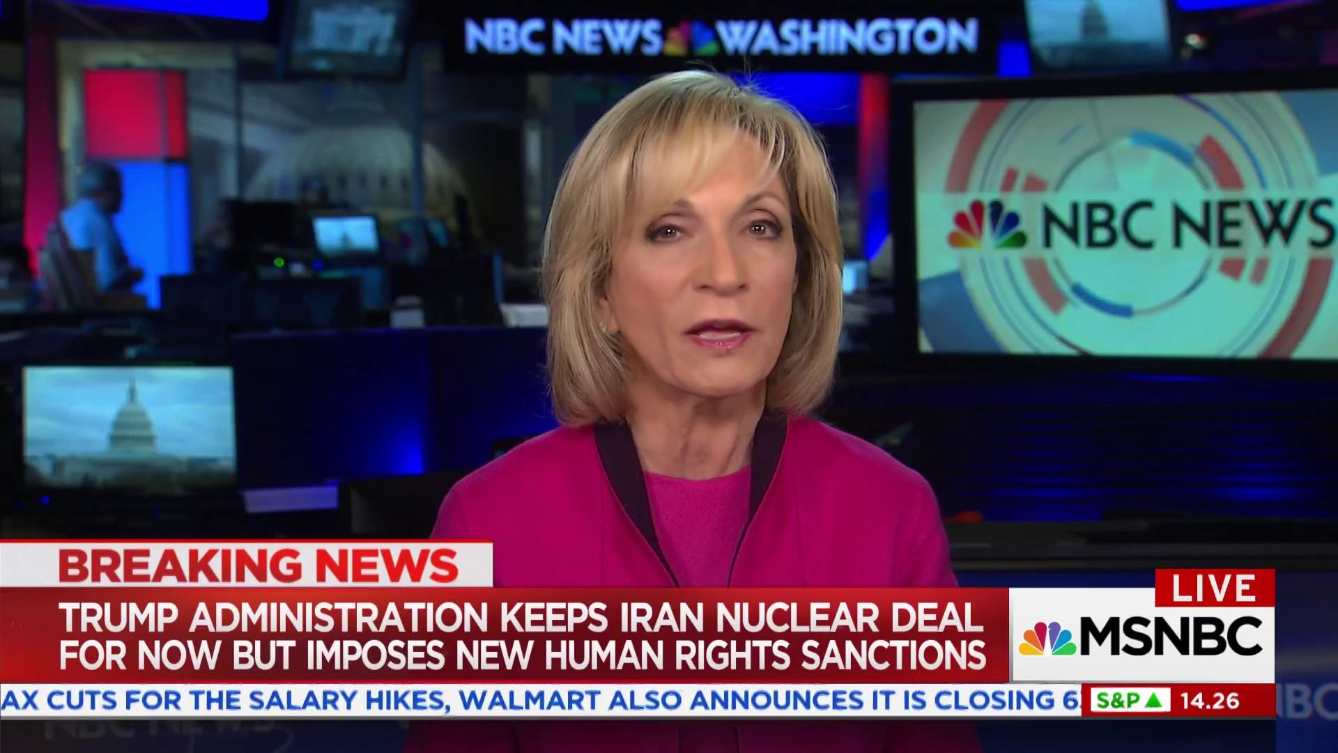 Trump keeps Iran nuclear deal for now, imposes new sanctions
