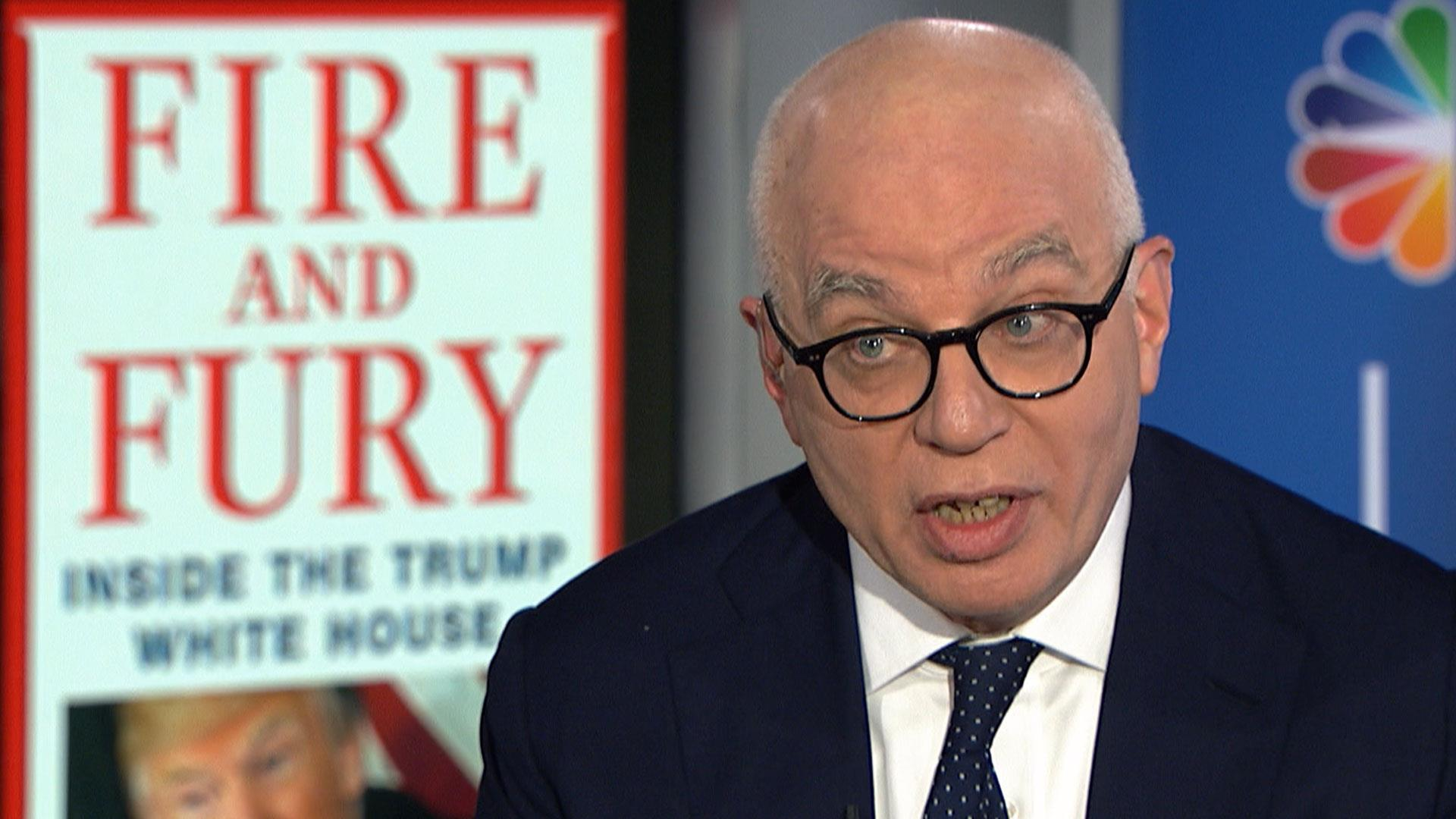 Michael Wolff says he will not release Trump tape interviews