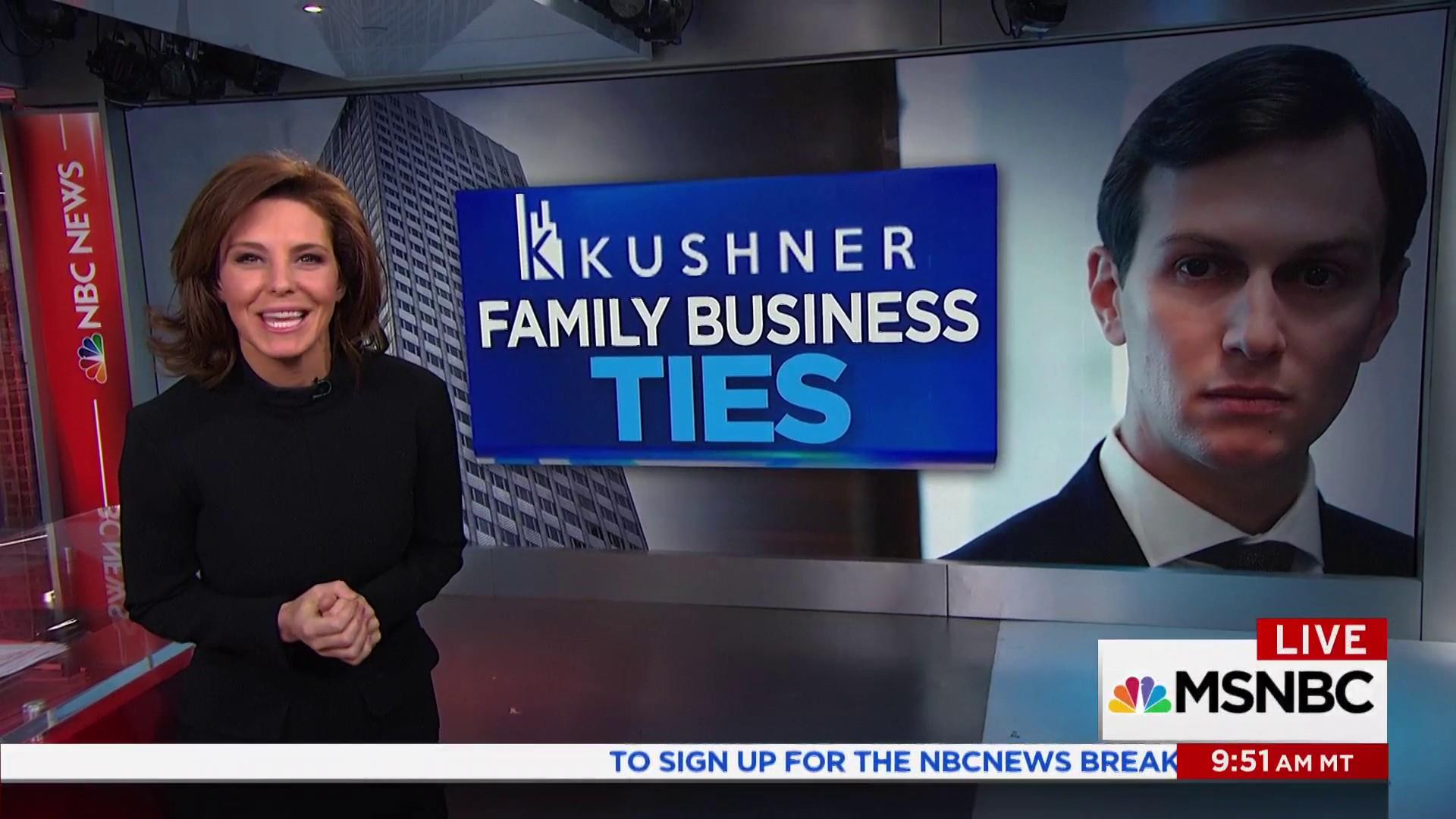 Kushner family businesses and ties to countries around the world