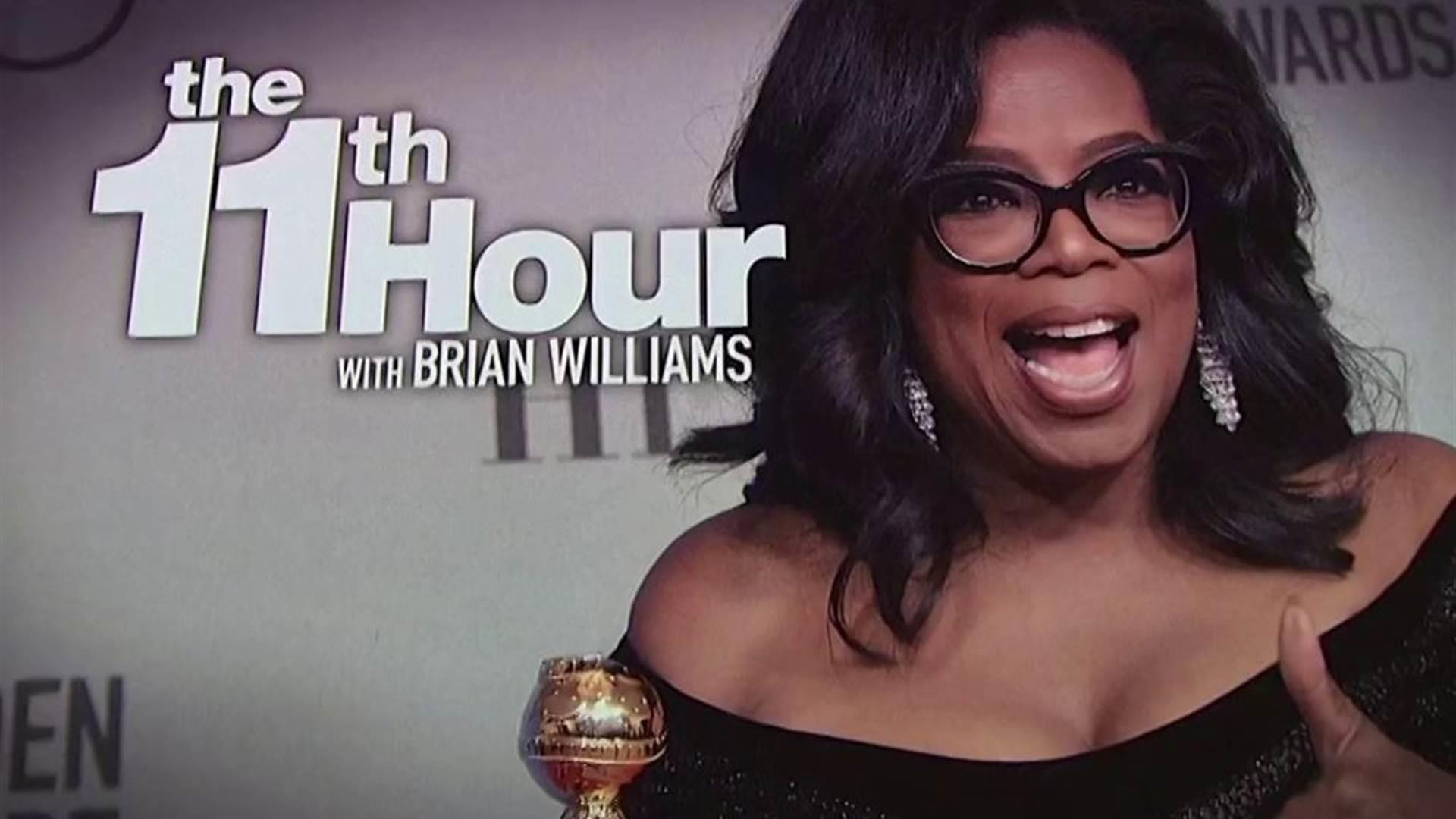 Trump: Oprah won't run in 2020, but I could beat her