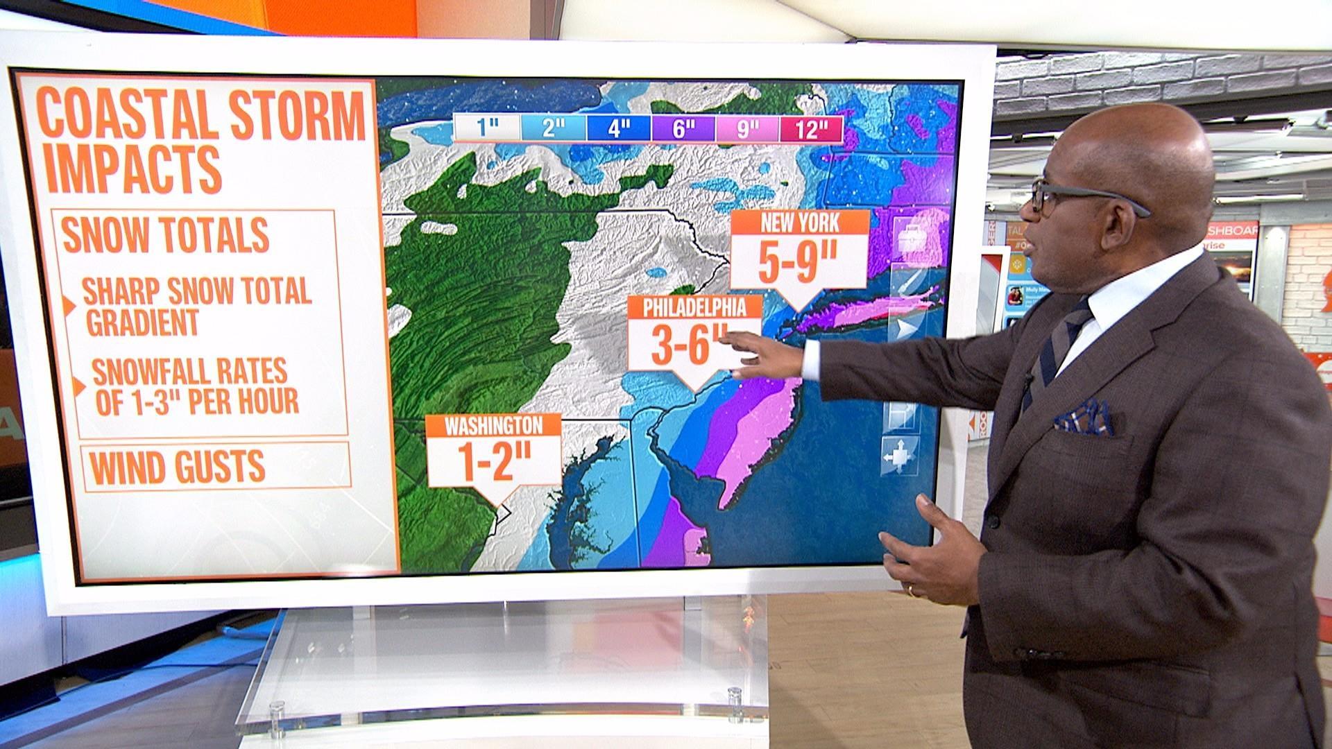 Massive winter storm targets entire East Coast - NBC News
