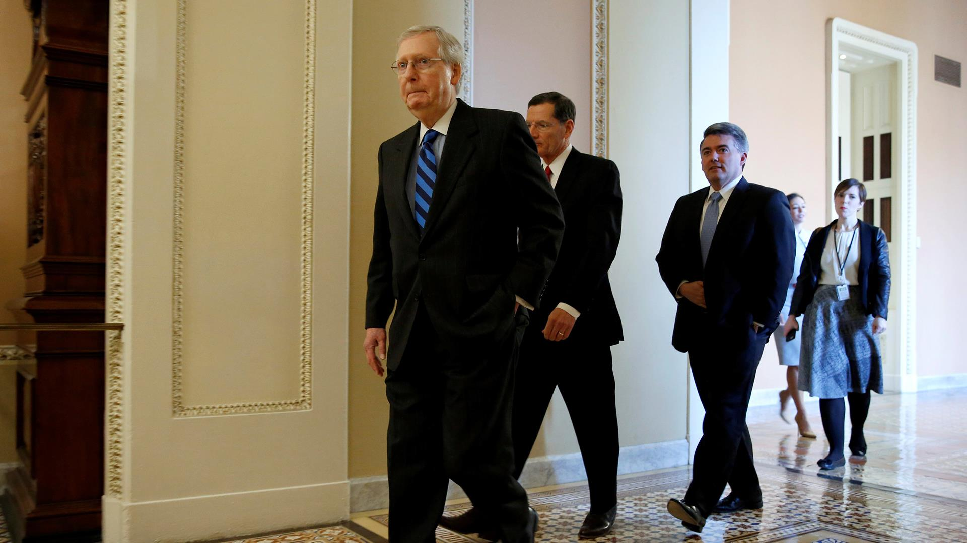 Senate optimistic on budget deal despite Trump's shutdown threat