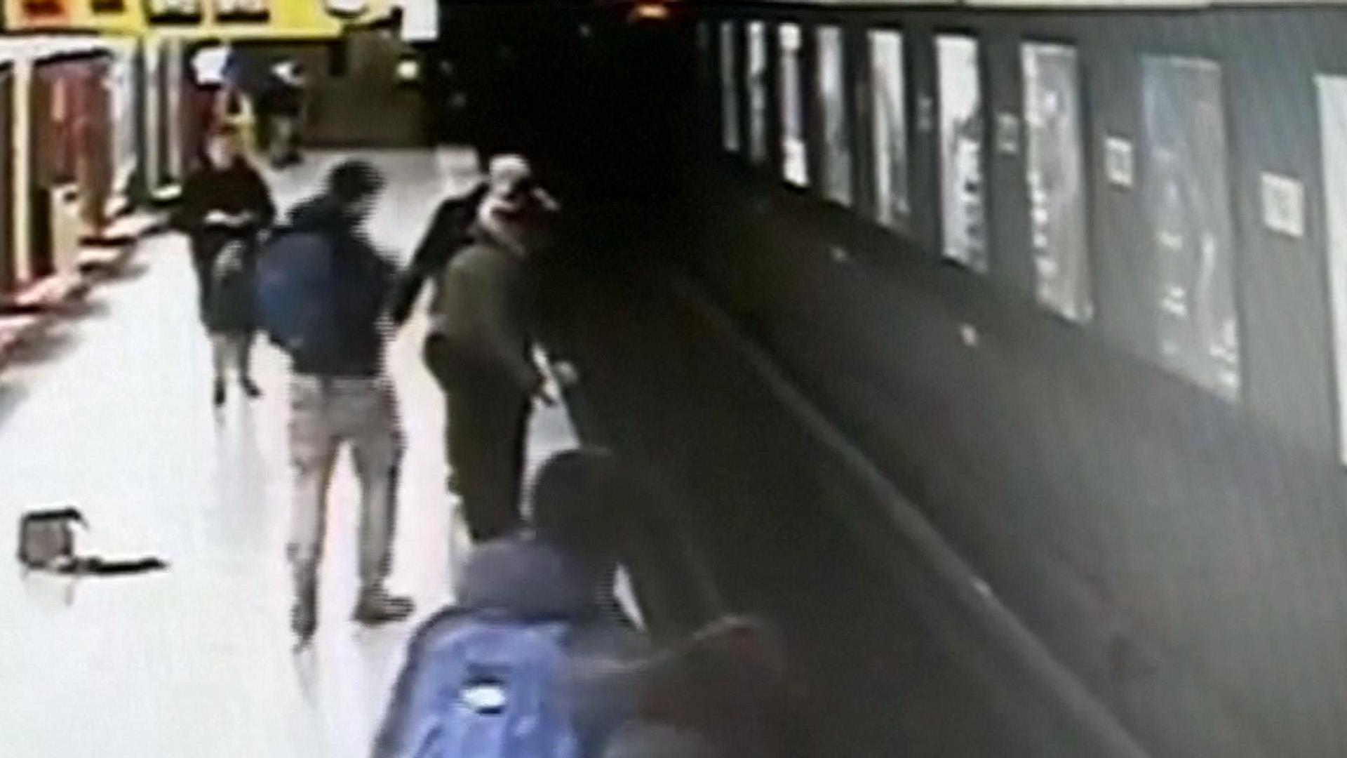 Teenage hero rescues 2-year-old boy from train tracks in Milan, Italy