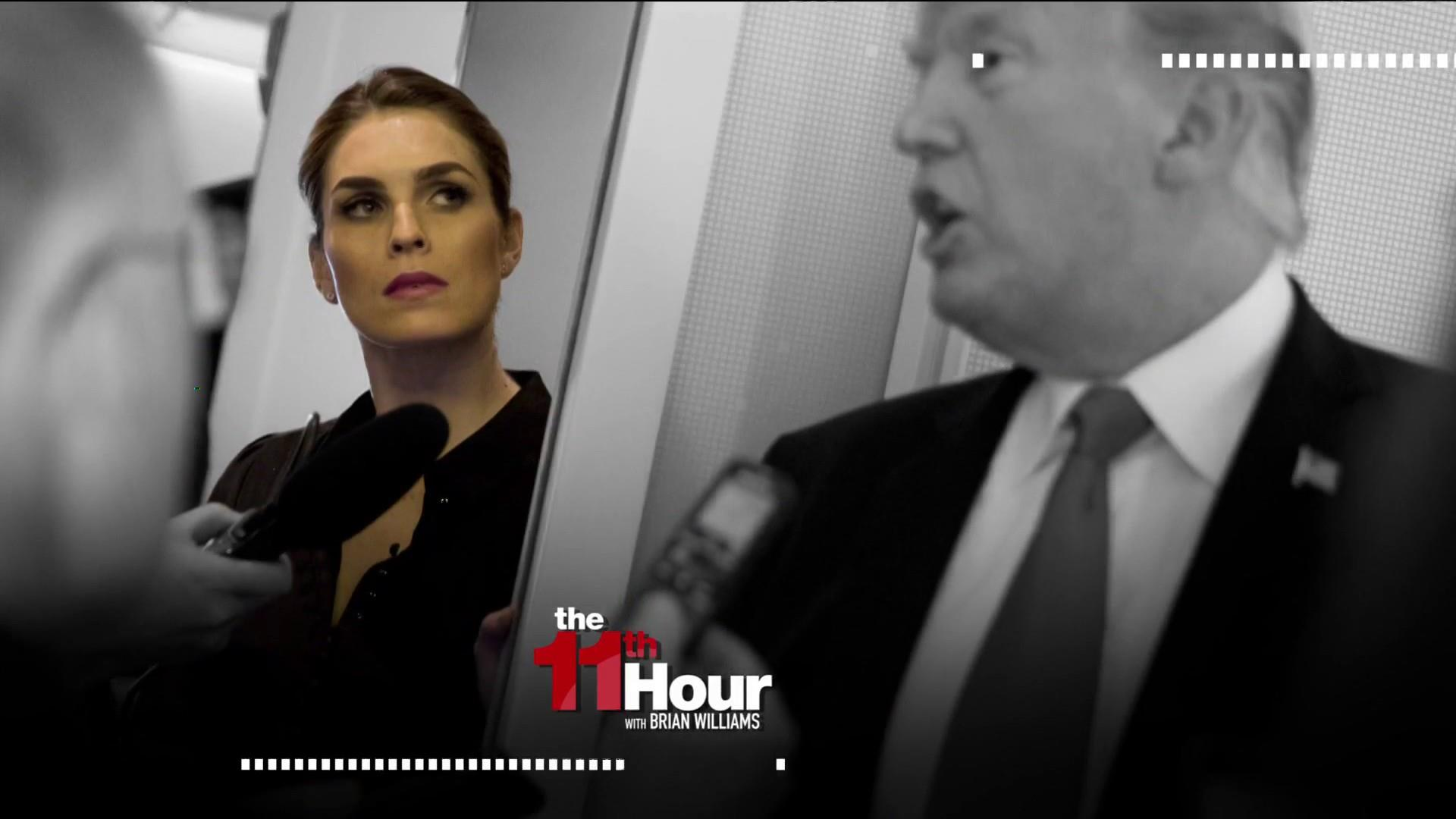 NYTimes: New scrutiny for Hope Hicks in Mueller probe