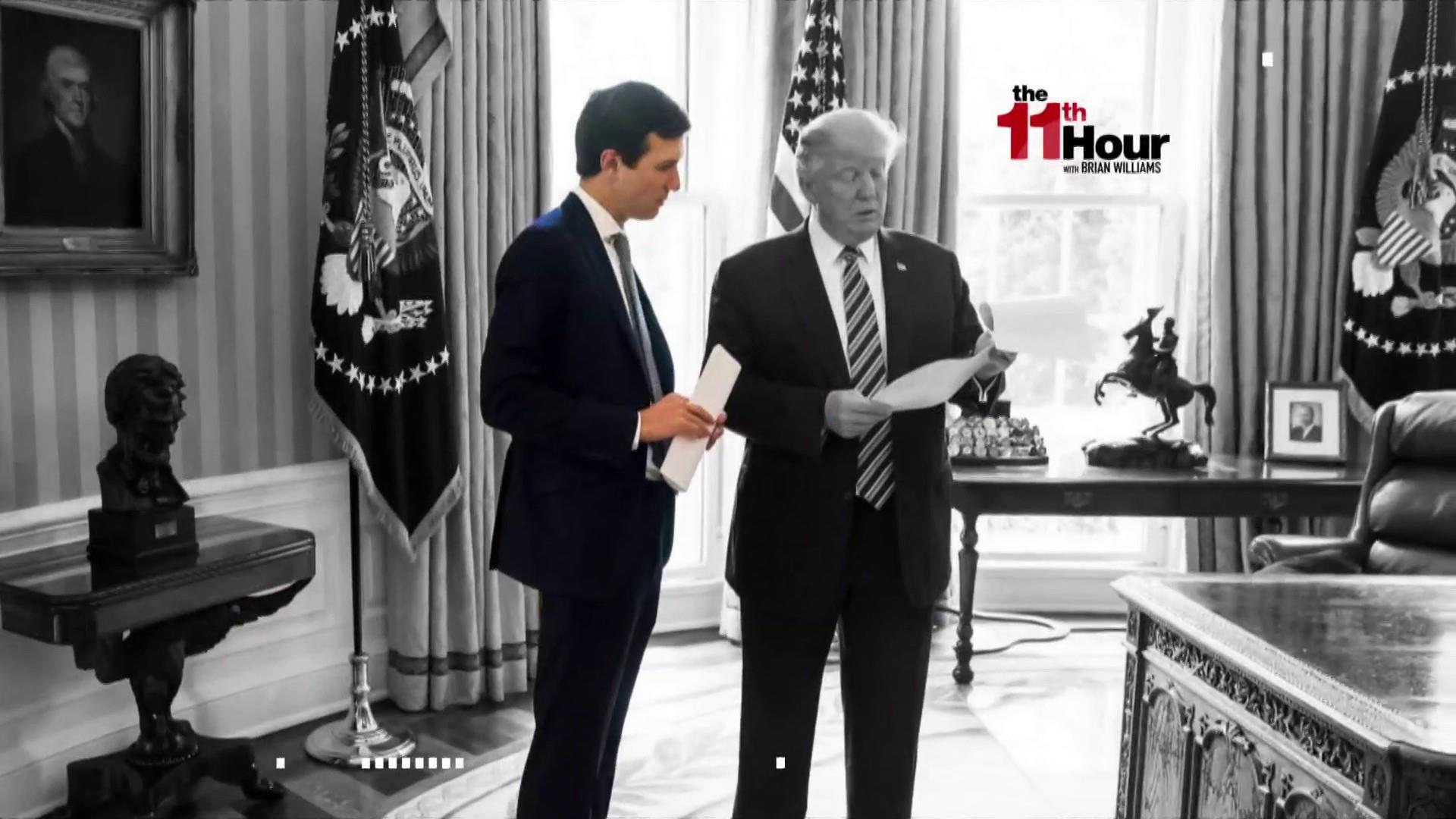 Rpt: Foreign officials have discussed how to manipulate Kushner