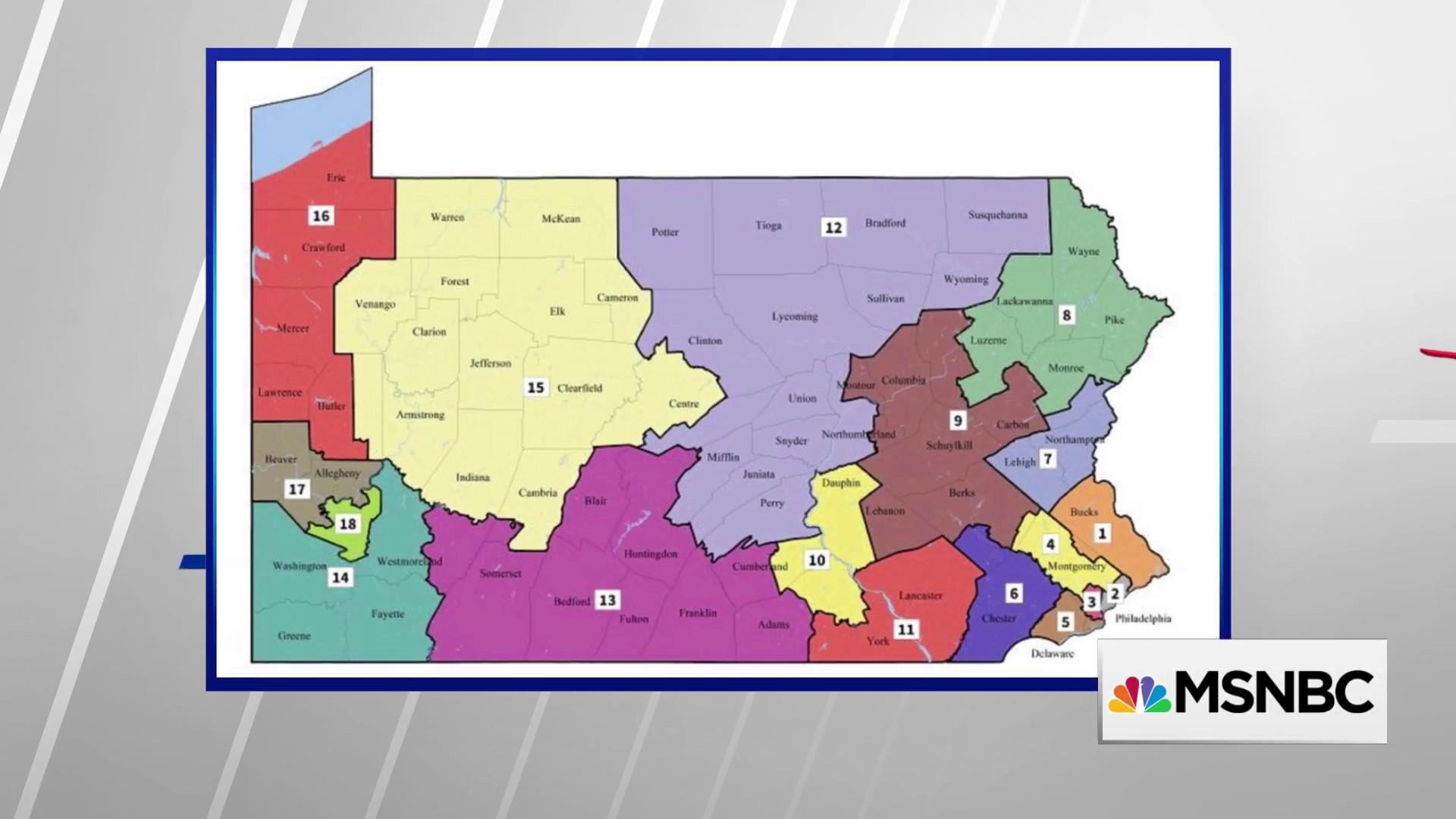 PA Courts release new congressional maps, could help Dems