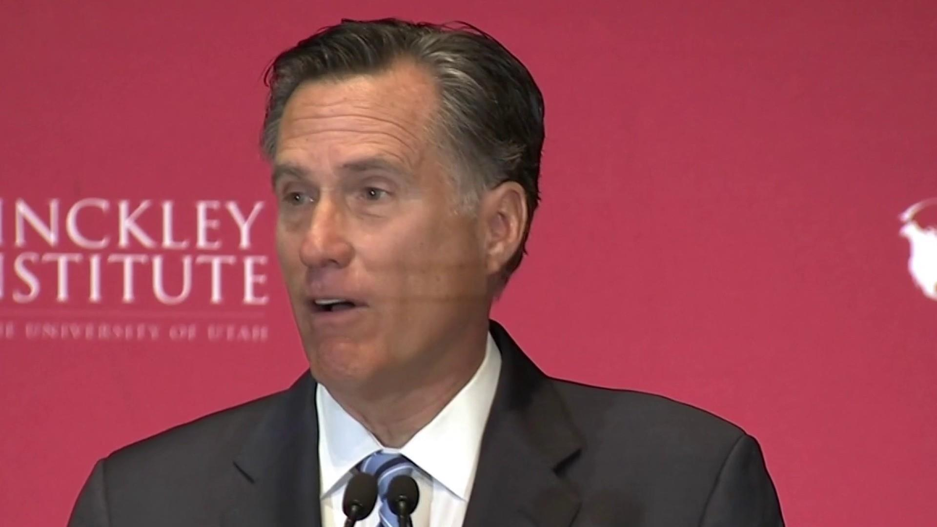 Romney said he wouldn't accept Trump endorsement. He did.