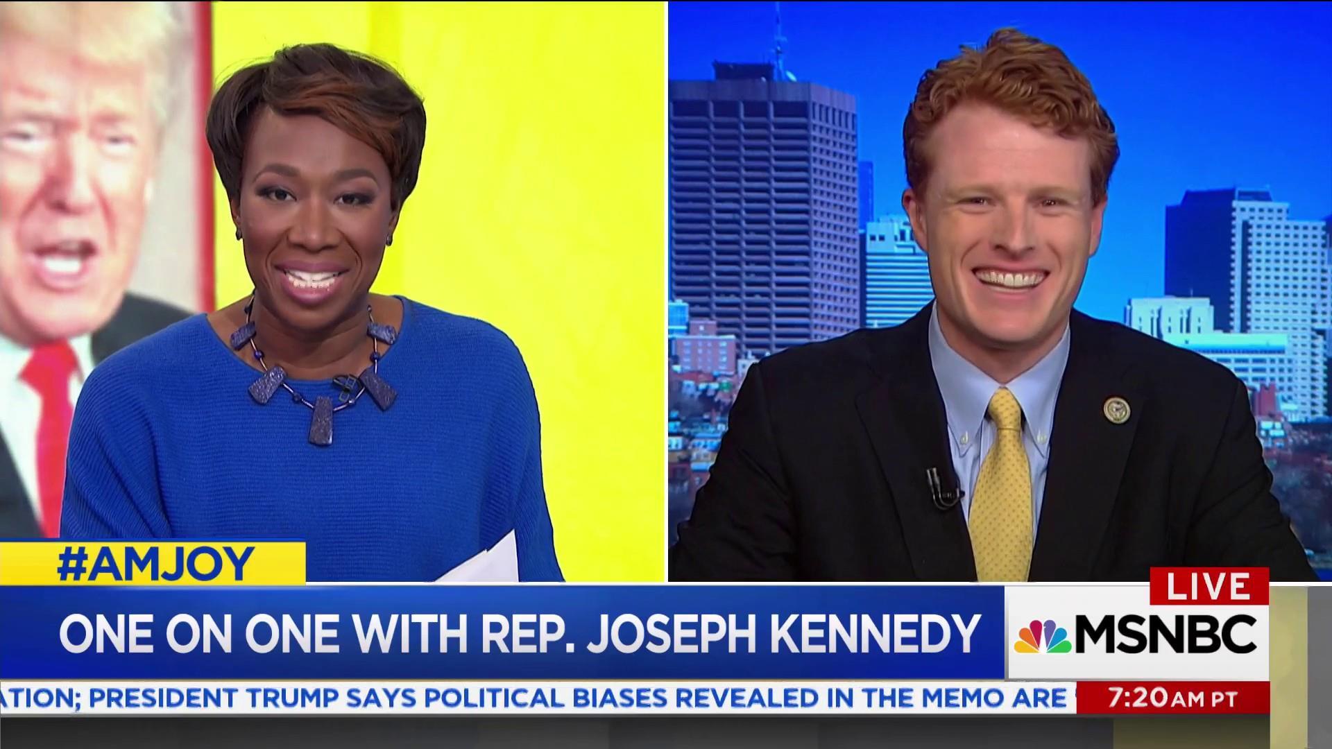 Rep. Joe Kennedy, III: I'm not running for president