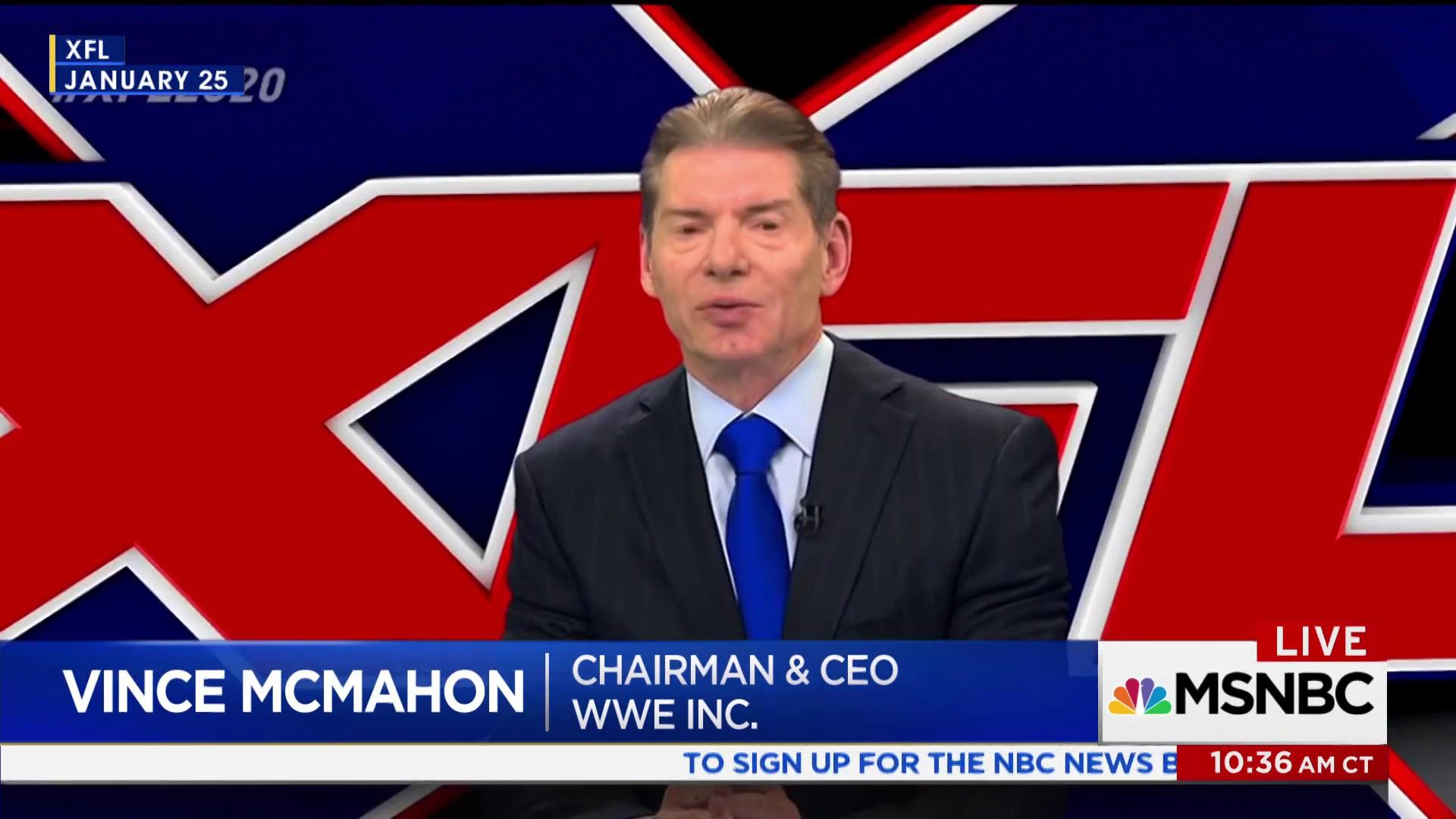 The sanctimony of Vince McMahon's XFL relaunch