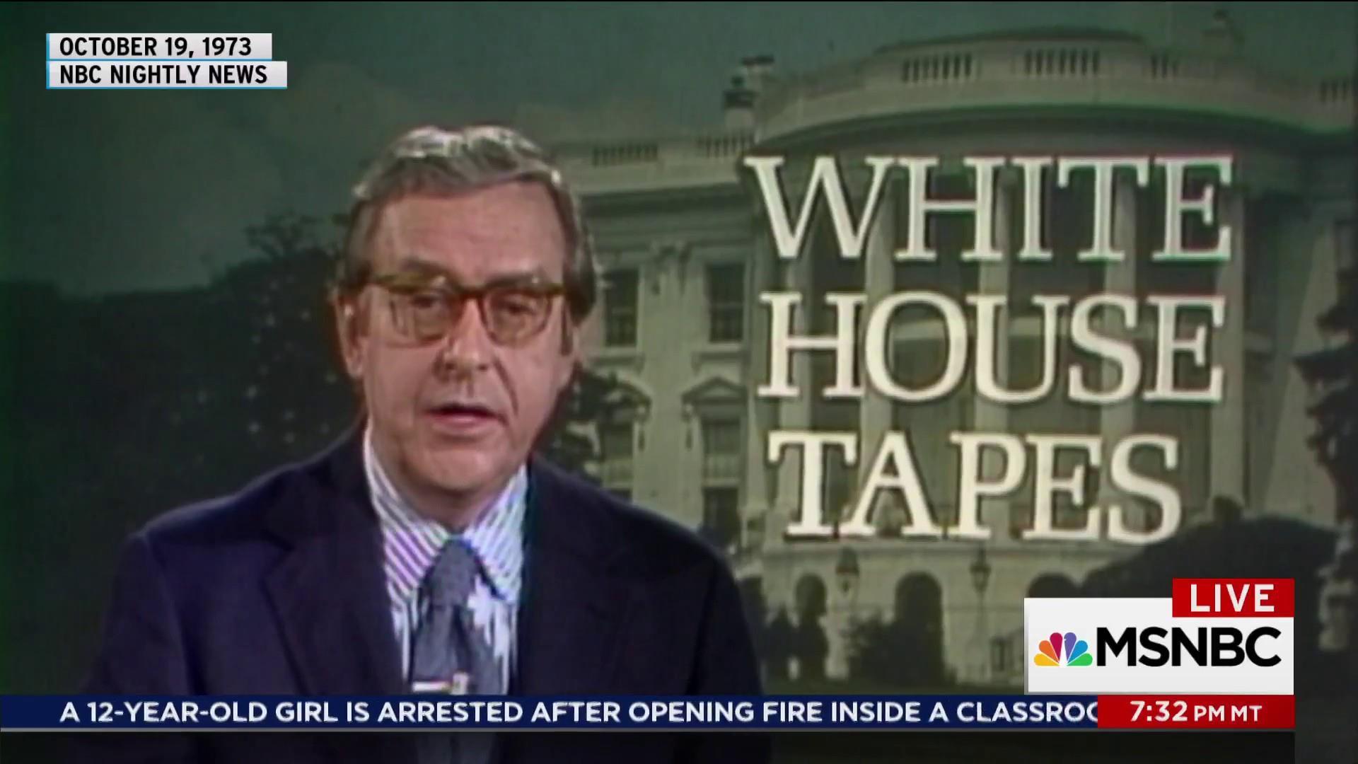 Suspenseful Friday before Nixon's Saturday night massacre