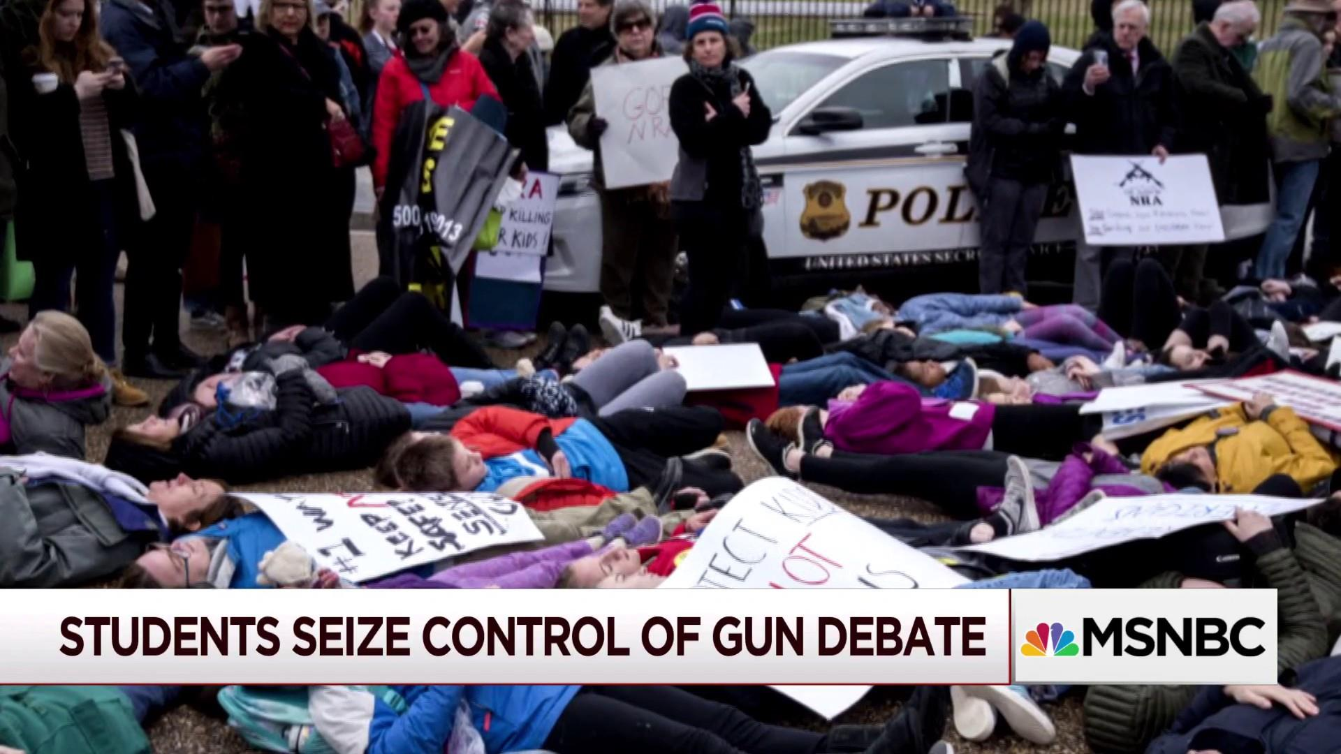 gun debate There are problems with the fetishization of youth in politics.