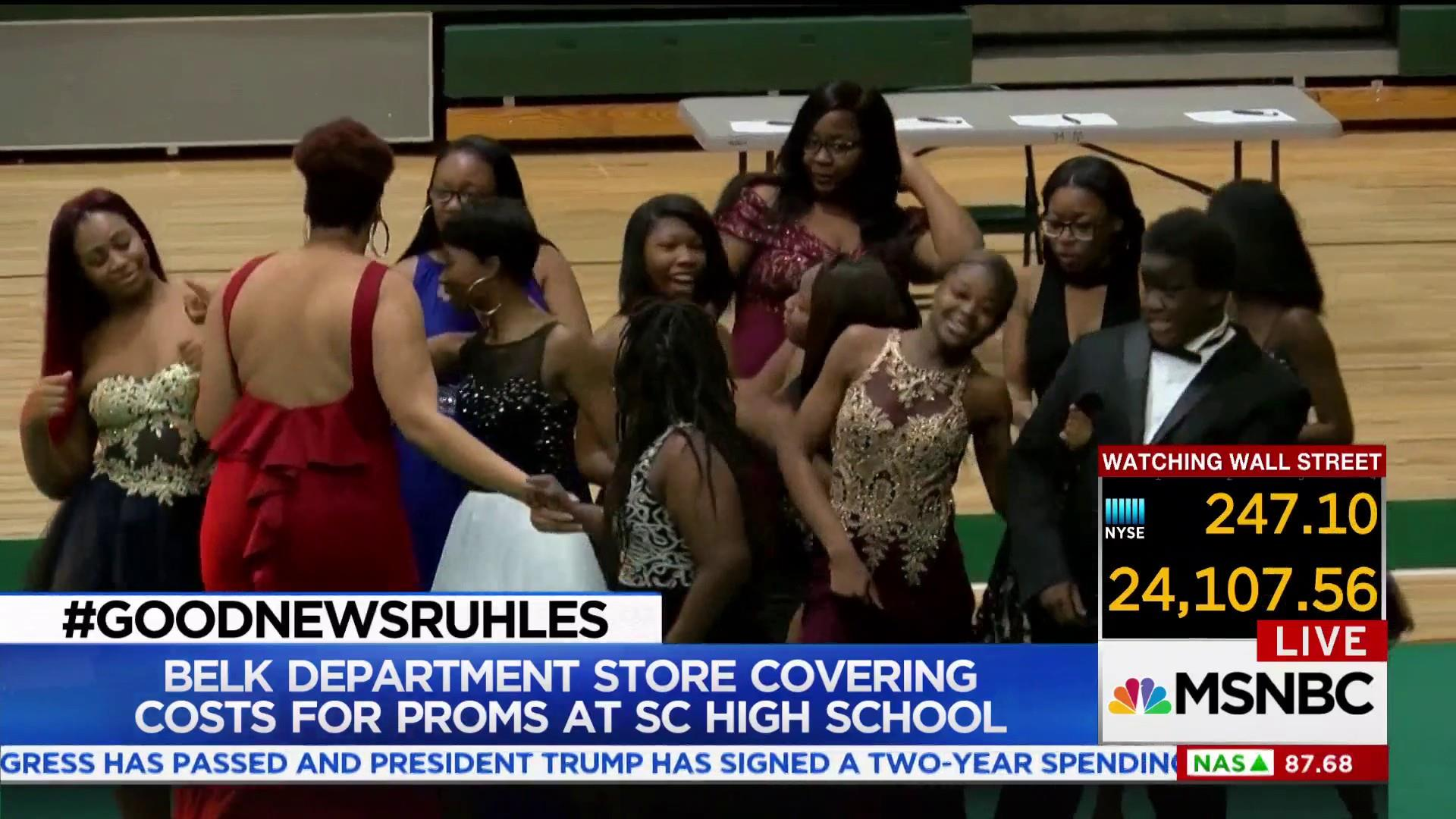 #GoodNewsRuhles: Belk funds SC High School Prom