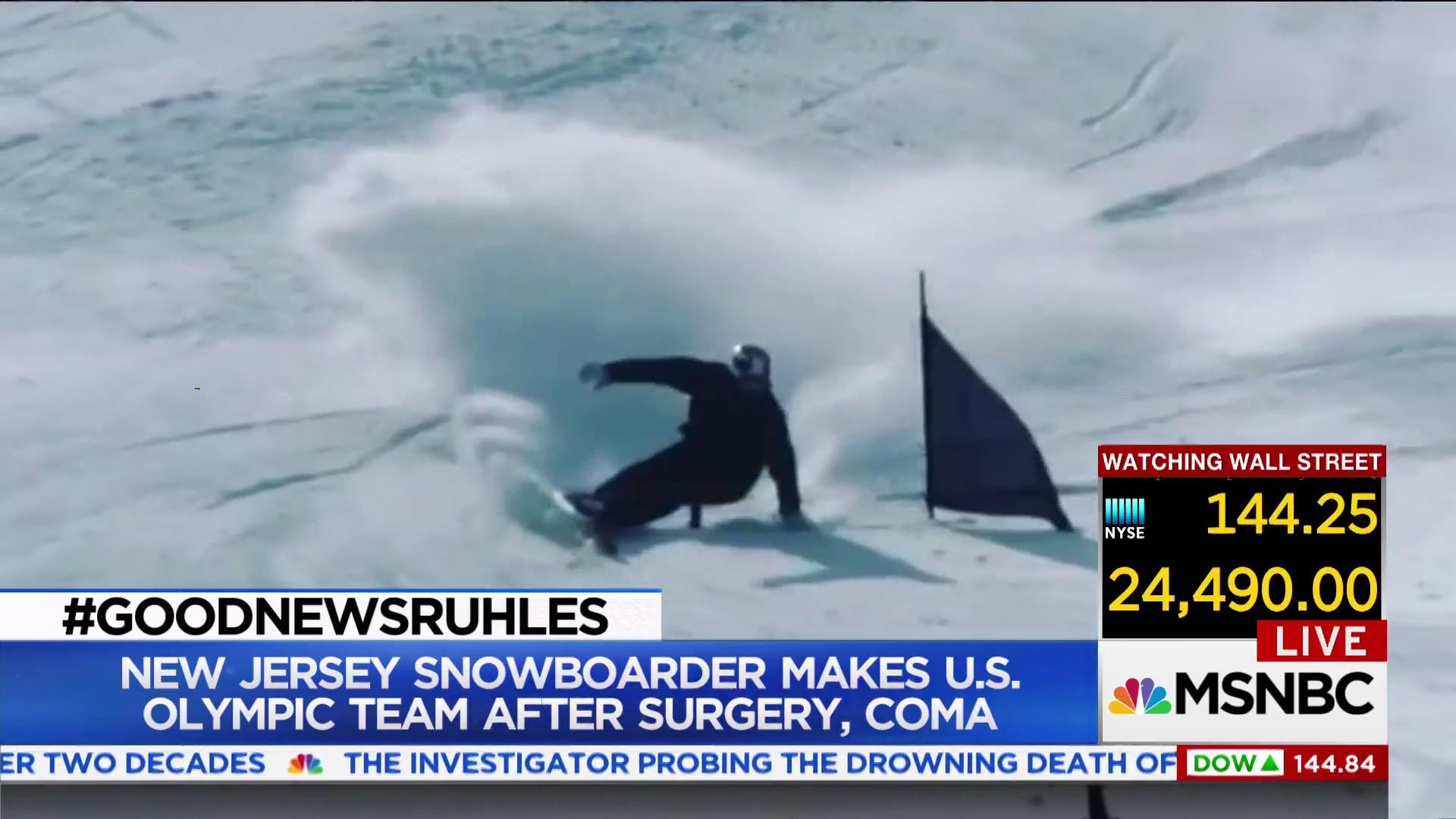 #GoodNewsRuhles: Snowboarder from coma to Olympics