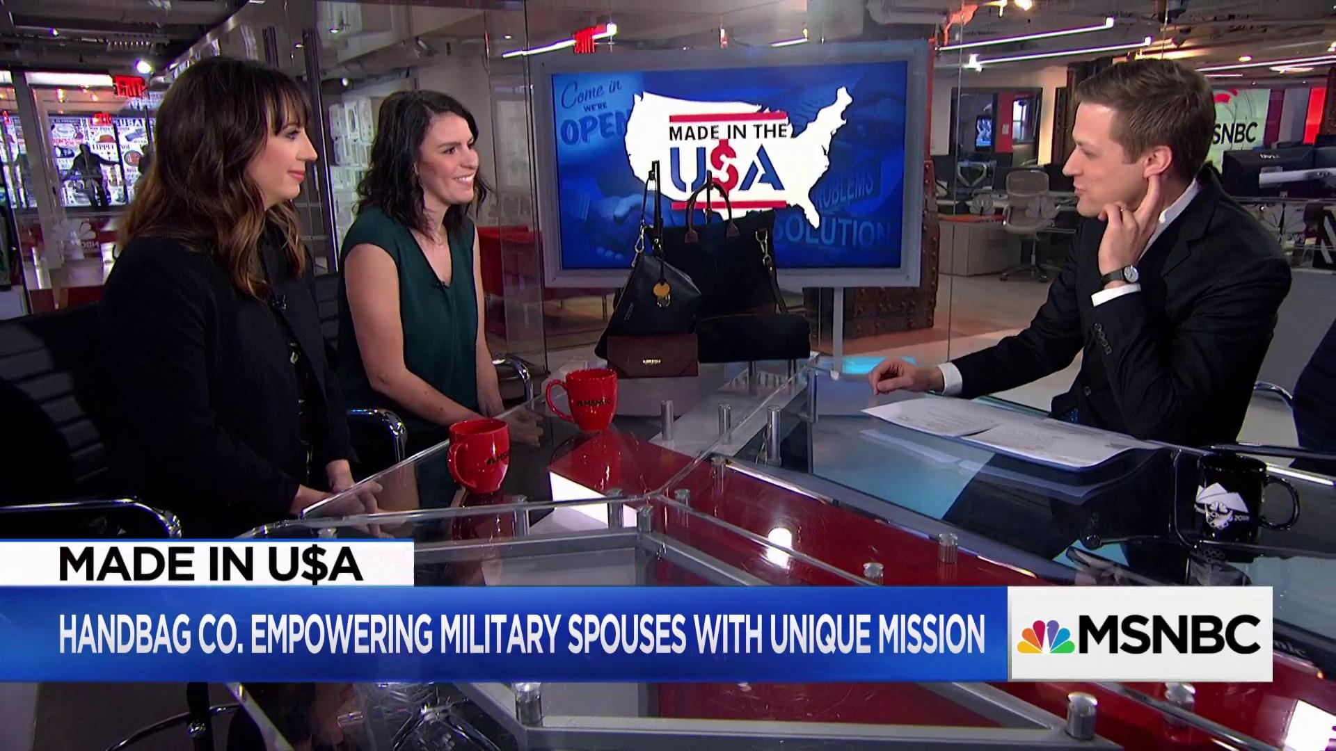 Handbag company R. Riveter is changing lives of military spouses