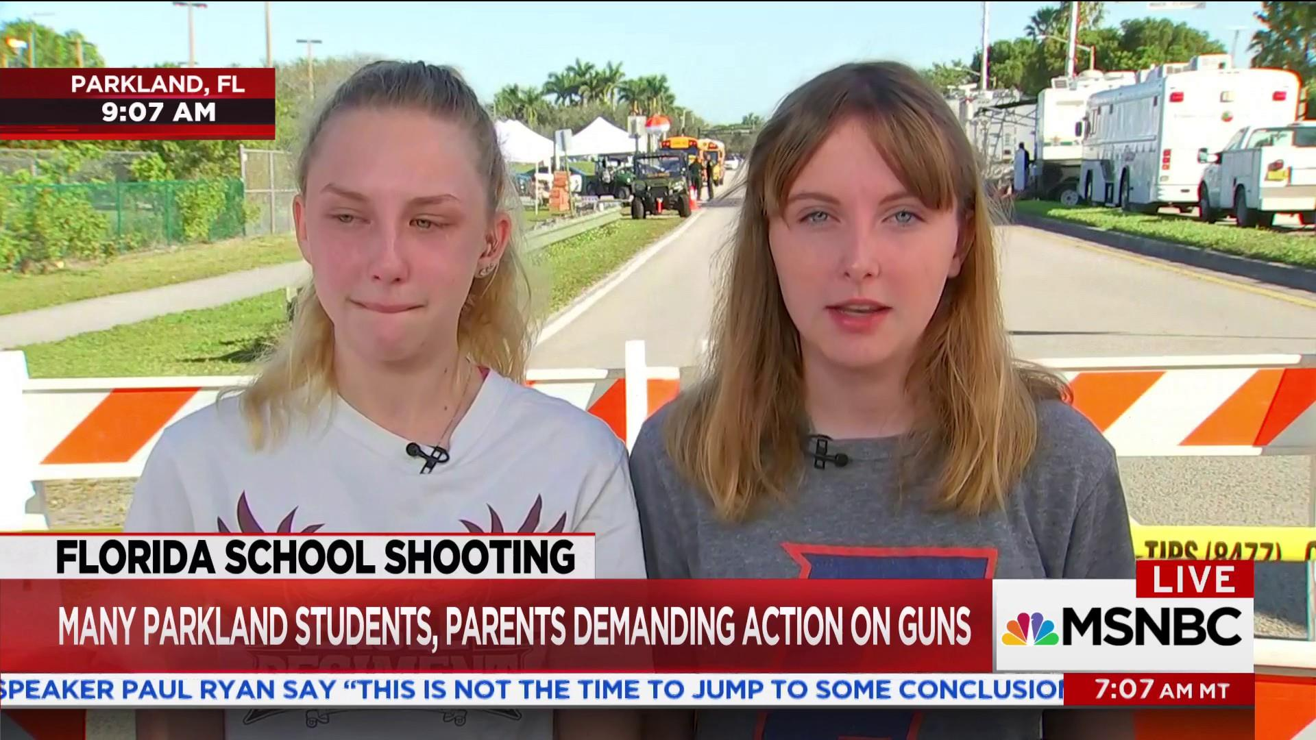Student on shooting: I don't know how I'm ever going to get past this