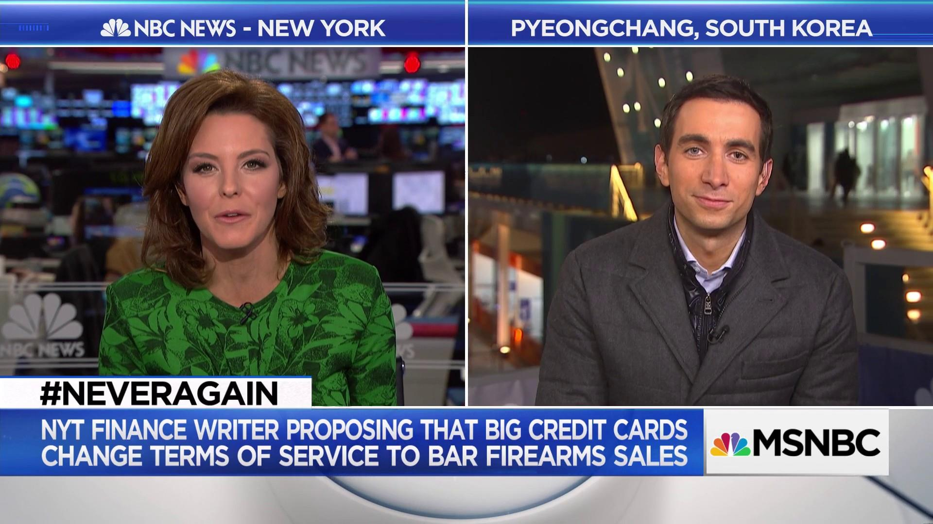 NYT's Sorkin: Banks could step up in gun control fight