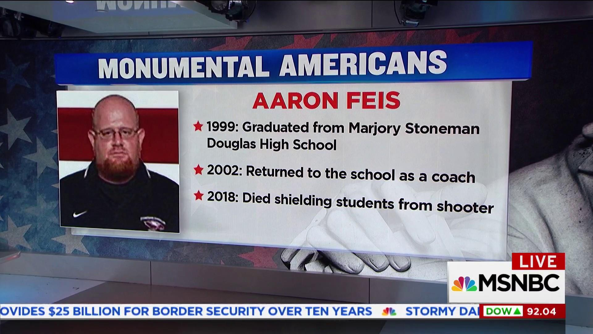 photo A Football Coach Died Shielding Students From Bullets in the Florida School Shooting
