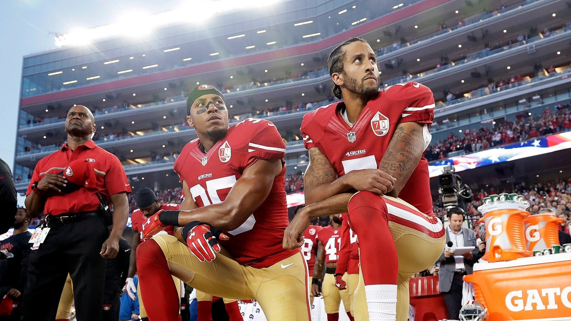"LeVell: ""I still stand with the president"" on criticizing NFL players protesting"