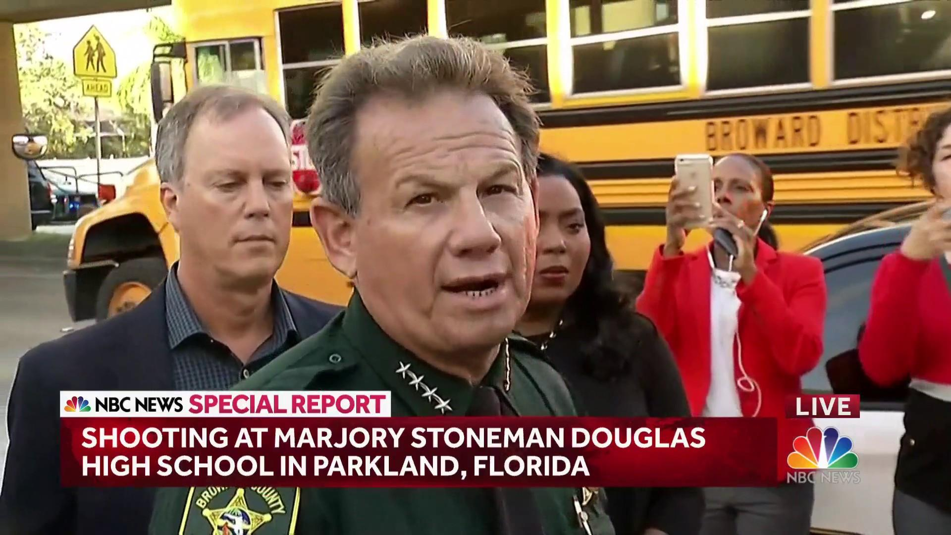 Florida school shooting suspect 'approximately 18 years old', sheriff says
