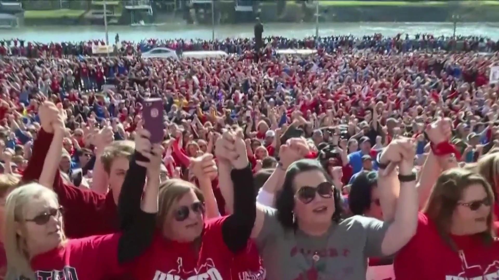 West Virginia governor announces deal to end teachers' strike