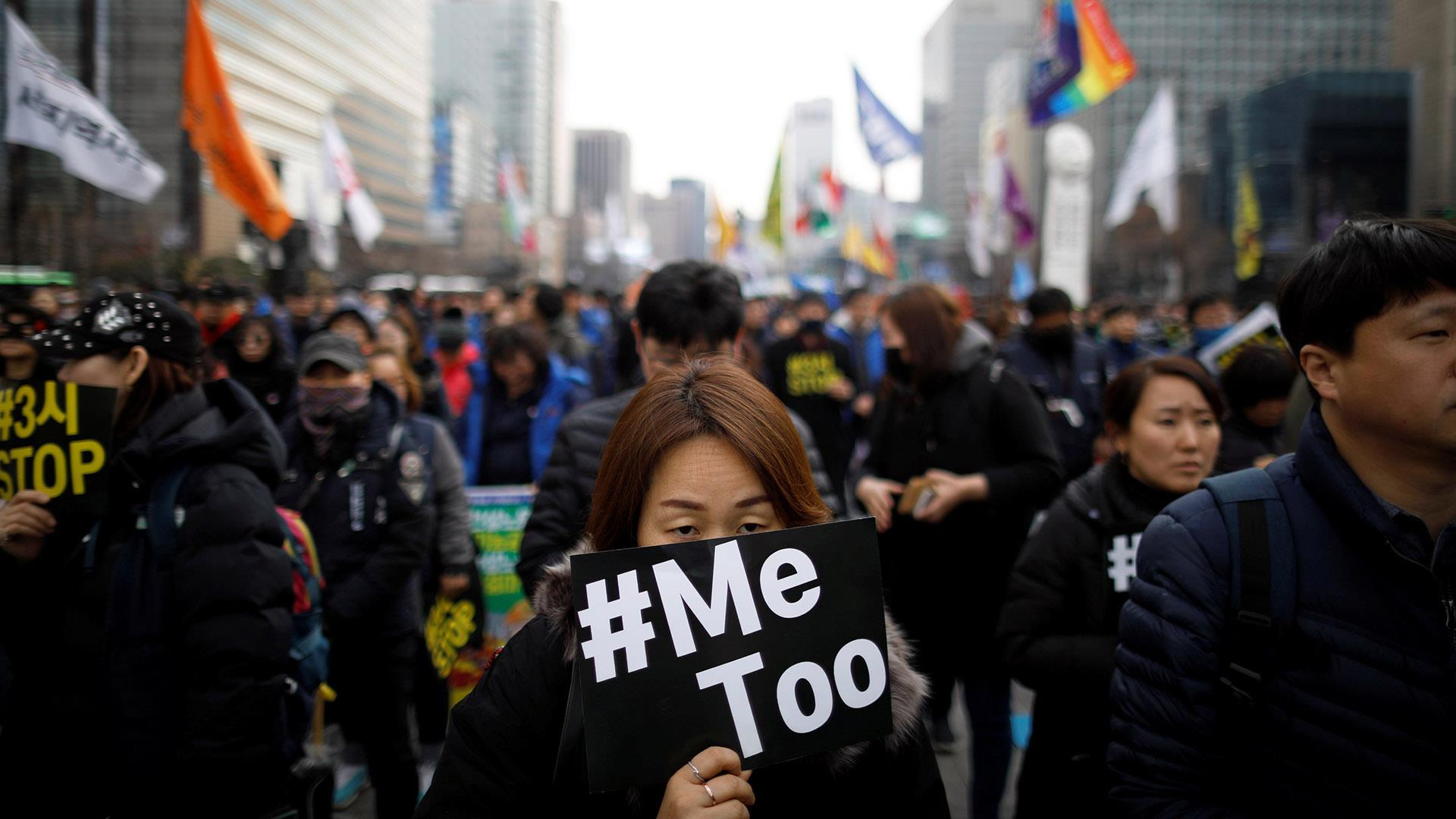 Image result for #MeToo protesters, photos
