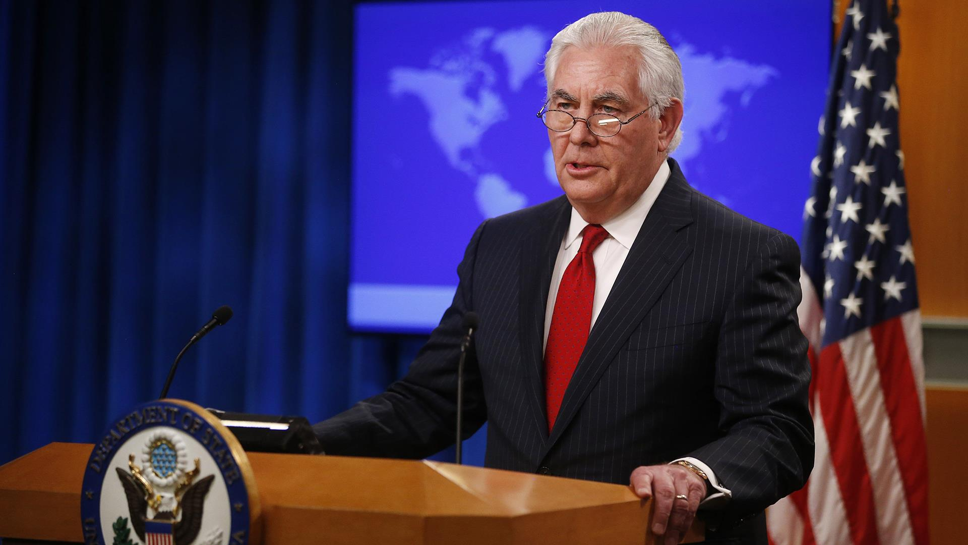 Rex Tillerson delivers post-firing statement from the State Department