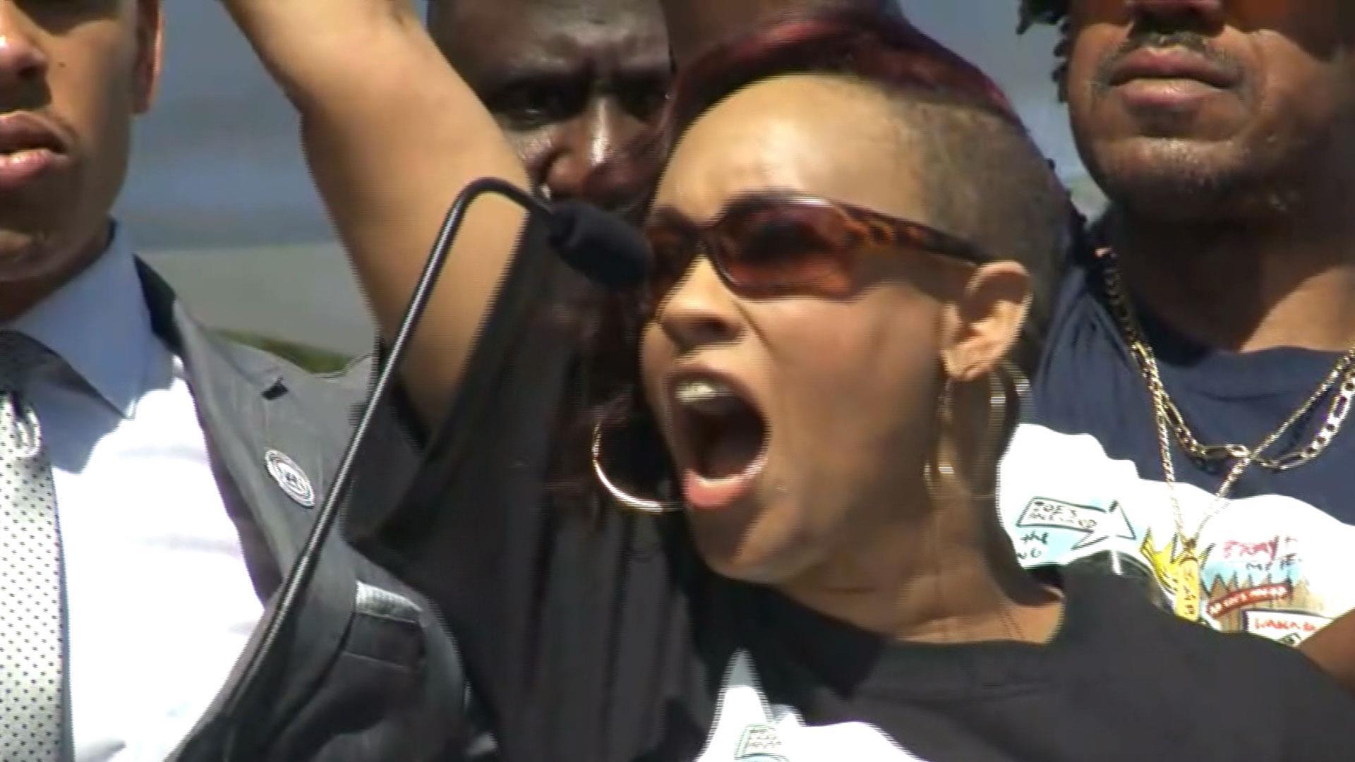 Stephon Clark's family speaks out at Sacramento rally Stephon Clark