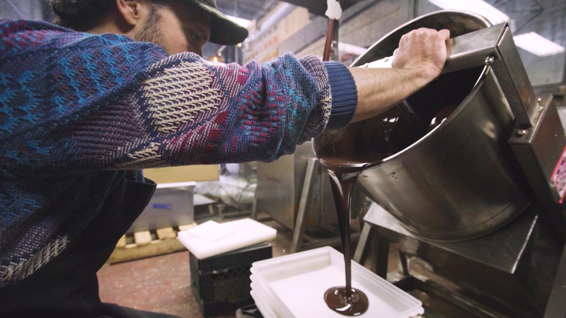 Childhood dreams inspire NY chocolate factory