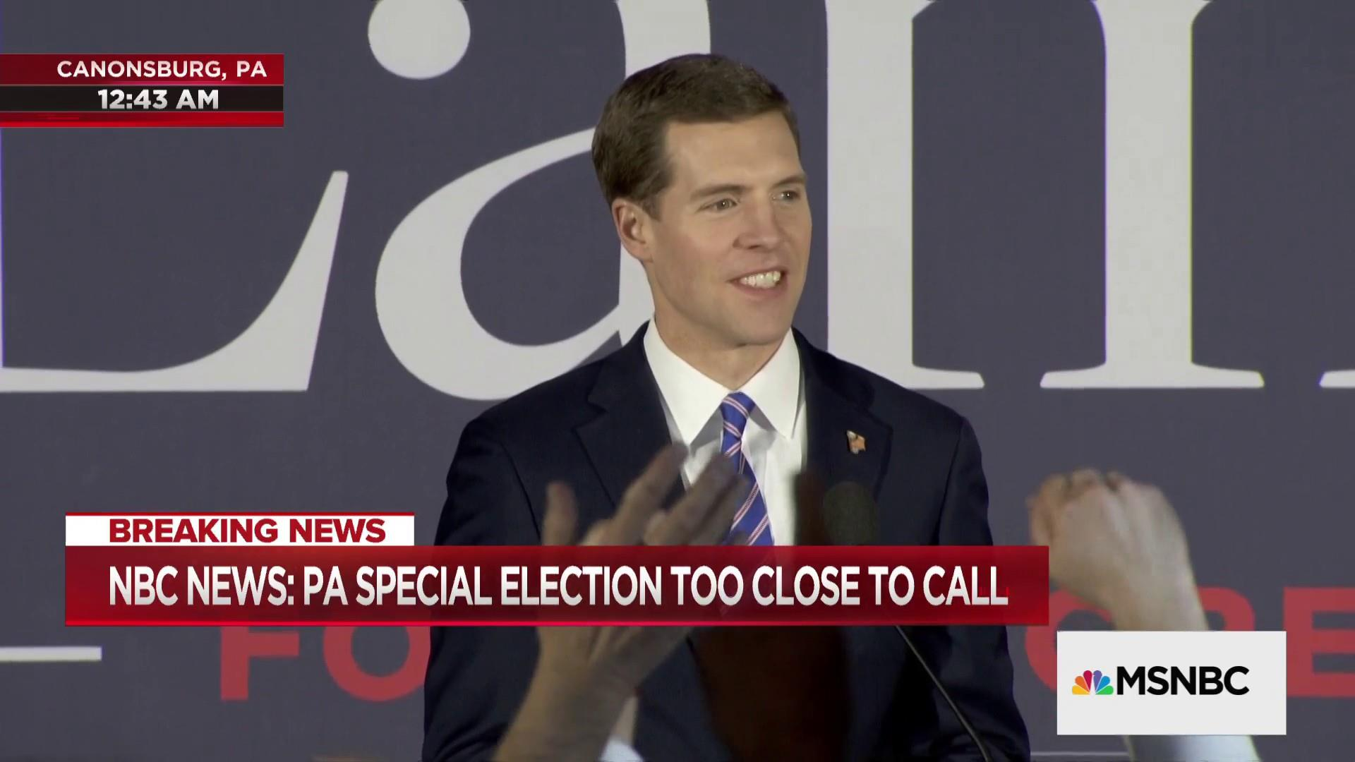 Democrat Conor Lamb declares victory in PA special election