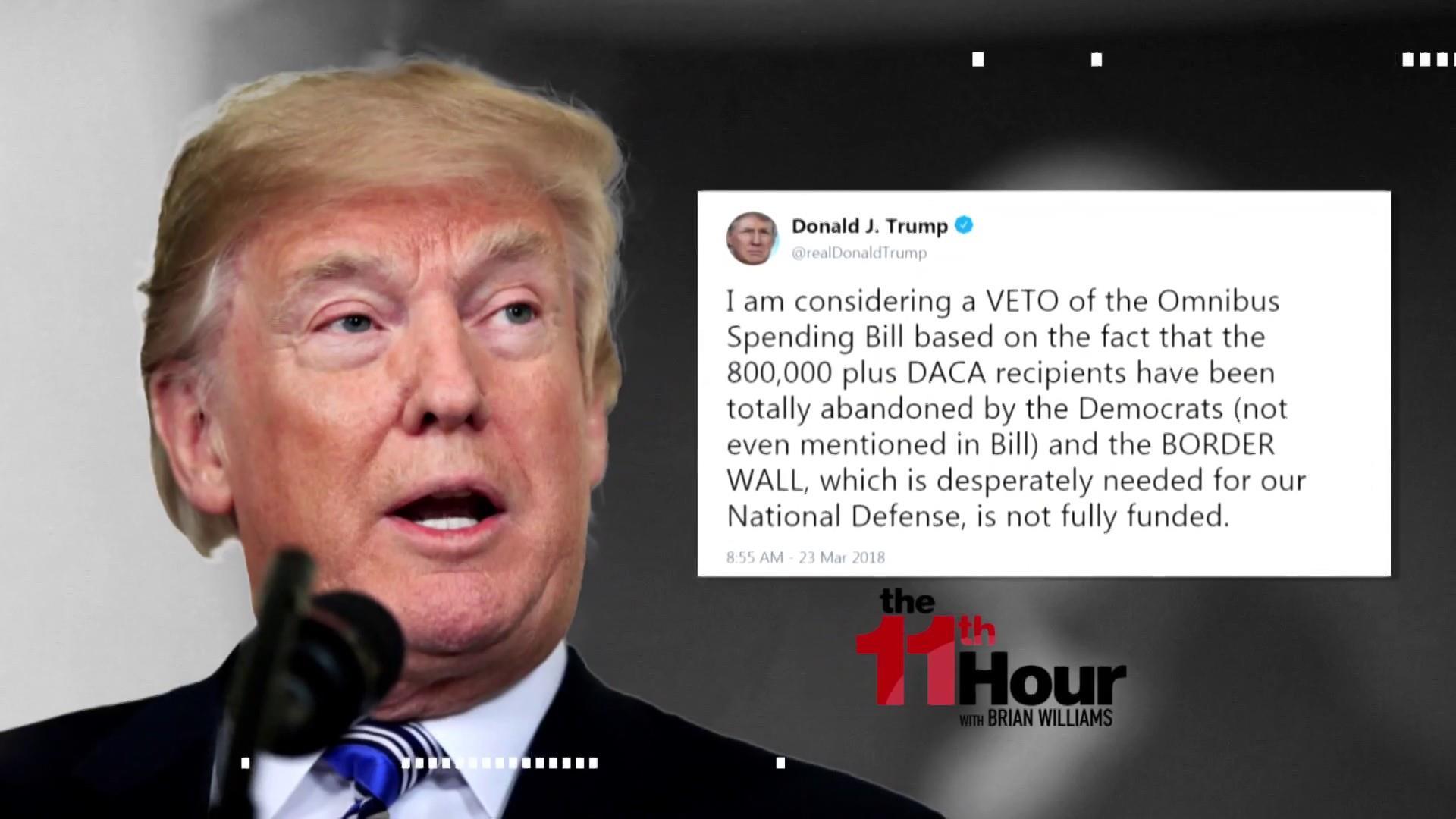 Trump's Volatile Week Almost Ends in Shutdown