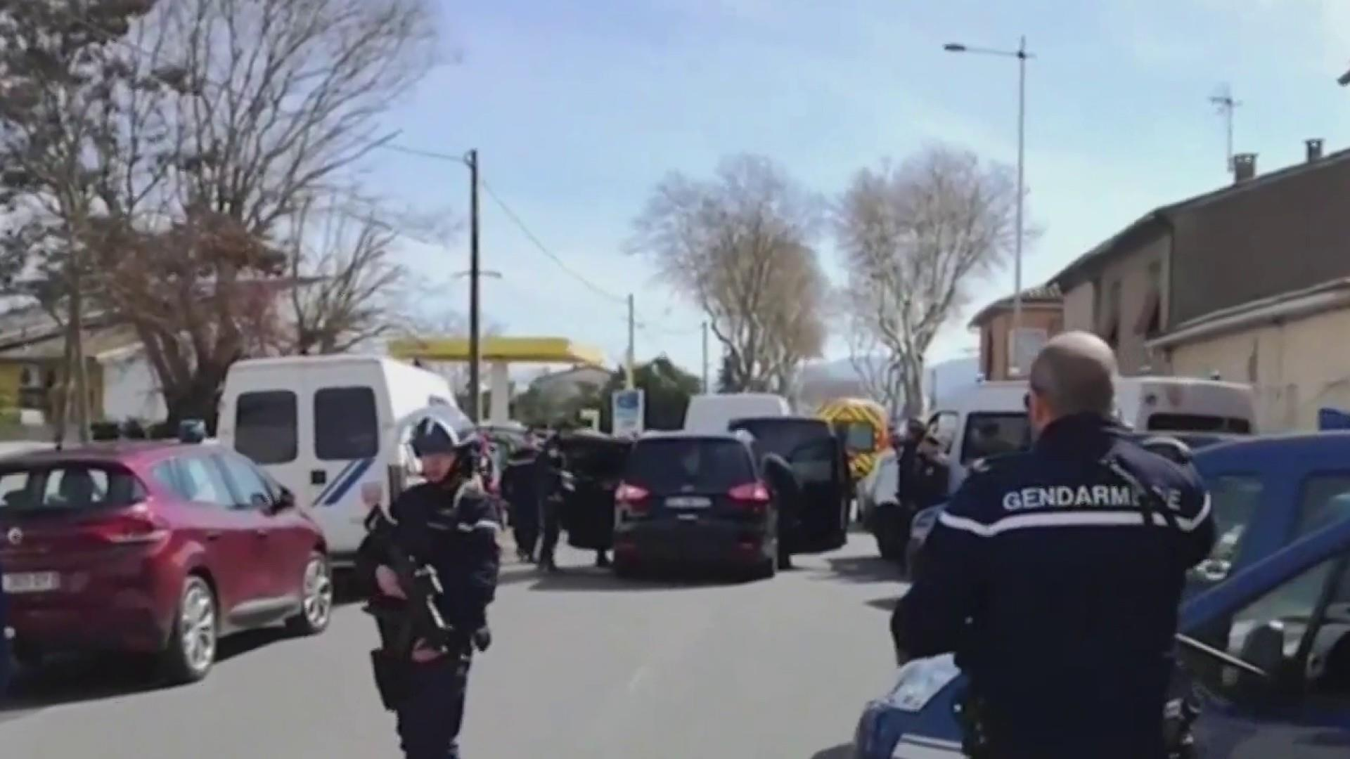 Gunman killed after hostage terrorist attack in France