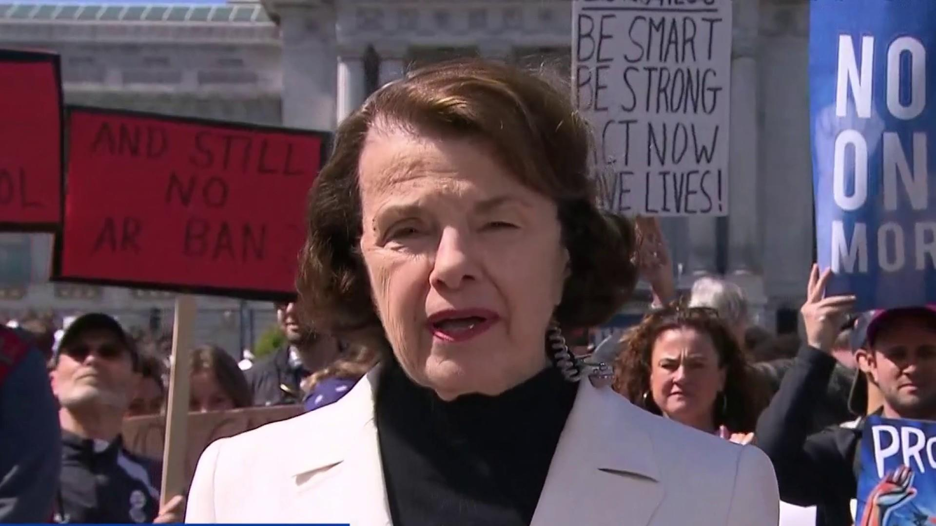 should feinstein's assault weapons ban be Dianne feinstein says she will not back must-pass spending bill without fixes   wednesday to ban the sale and possession of military style assault weapons.