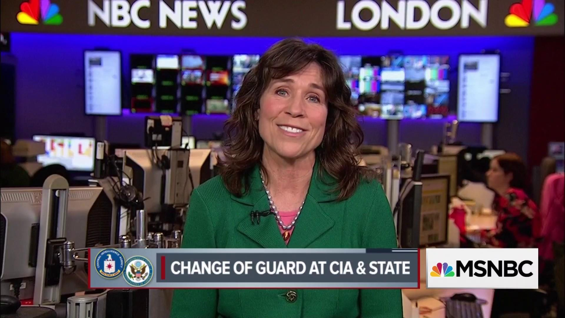Change of Guard at CIA & State