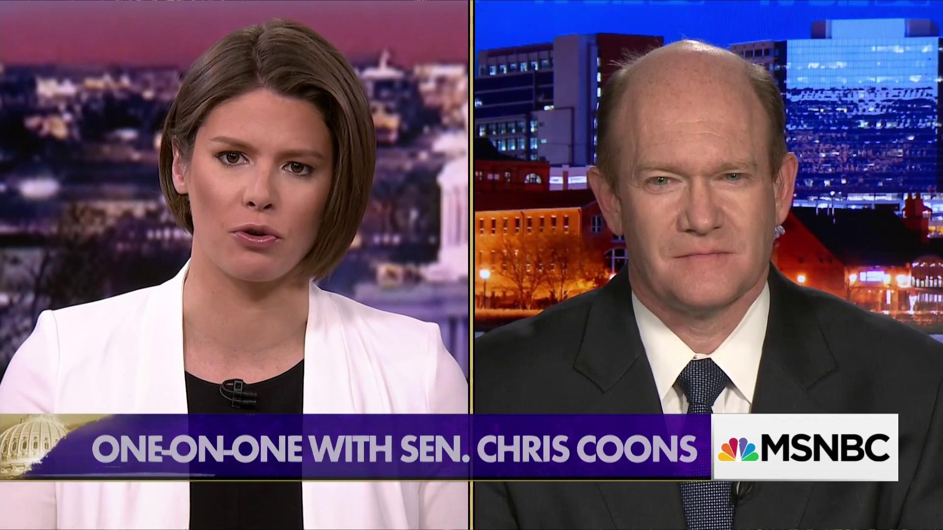 Sen. Coons: Not likely to see a vote on Dreamers by deadline