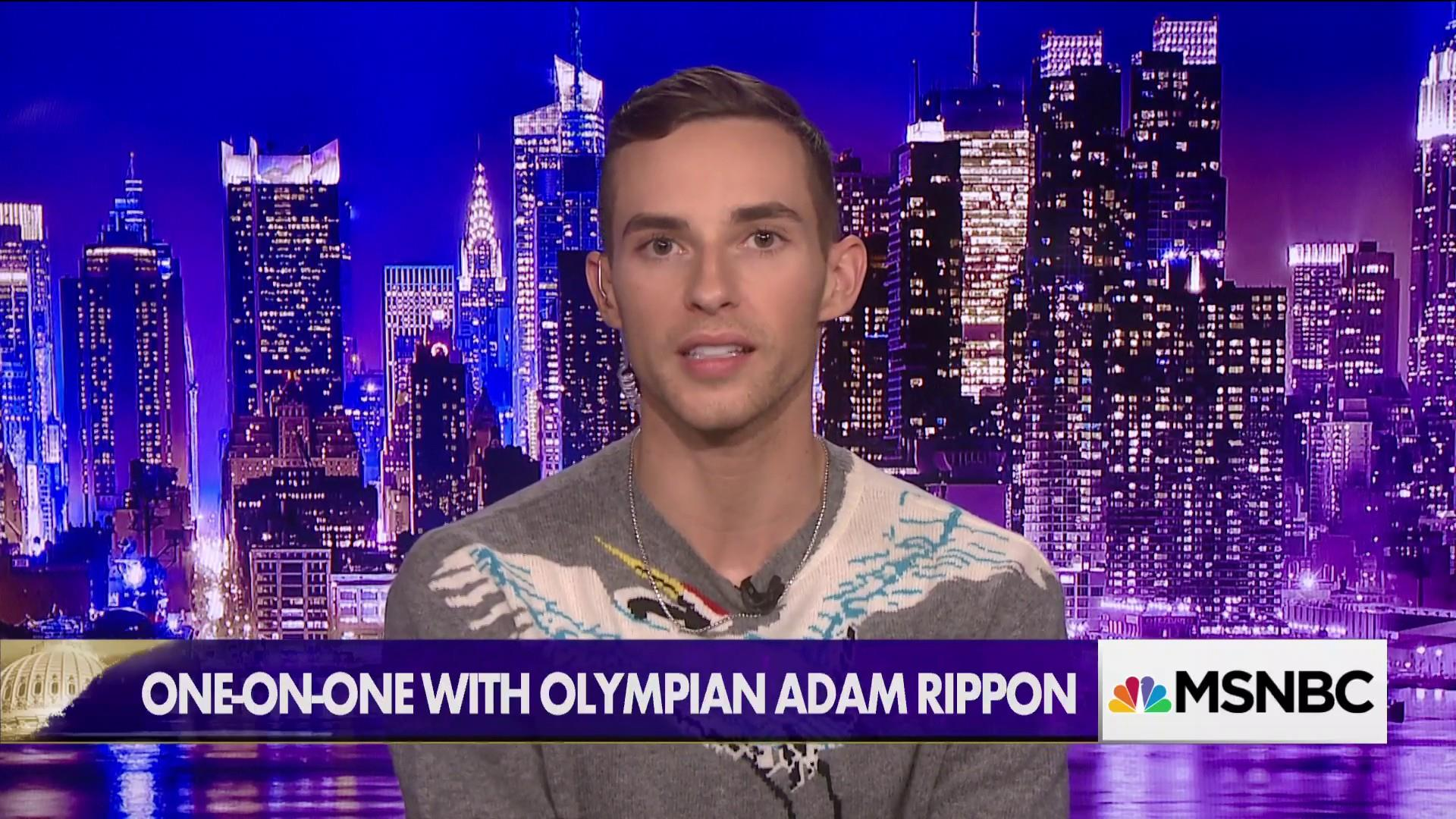 What Adam Rippon wants to tell Vice President Pence
